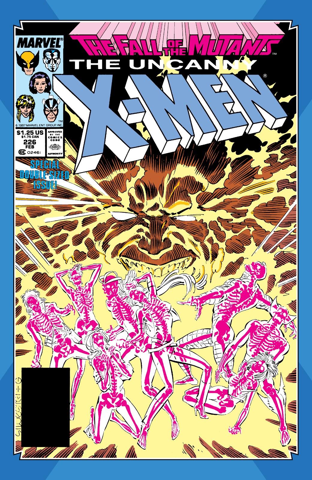 Read online X-Men Milestones: Fall of the Mutants comic -  Issue # TPB (Part 1) - 27