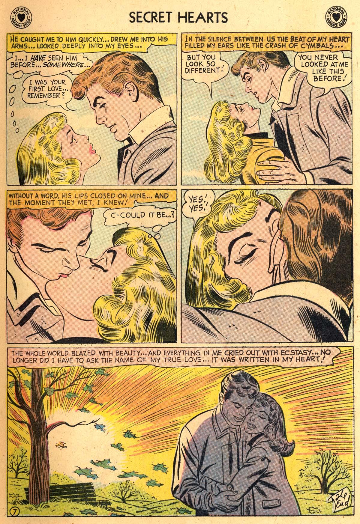 Read online Secret Hearts comic -  Issue #52 - 9