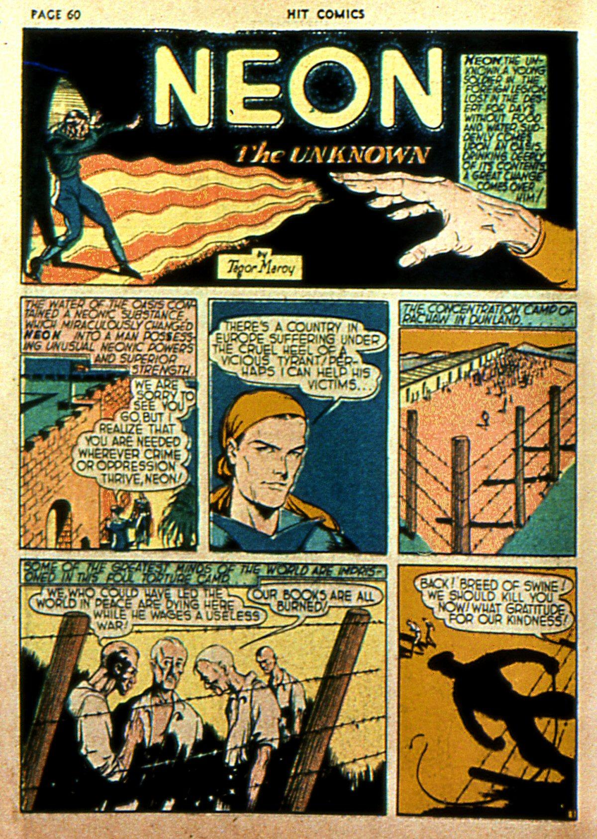 Read online Hit Comics comic -  Issue #2 - 62