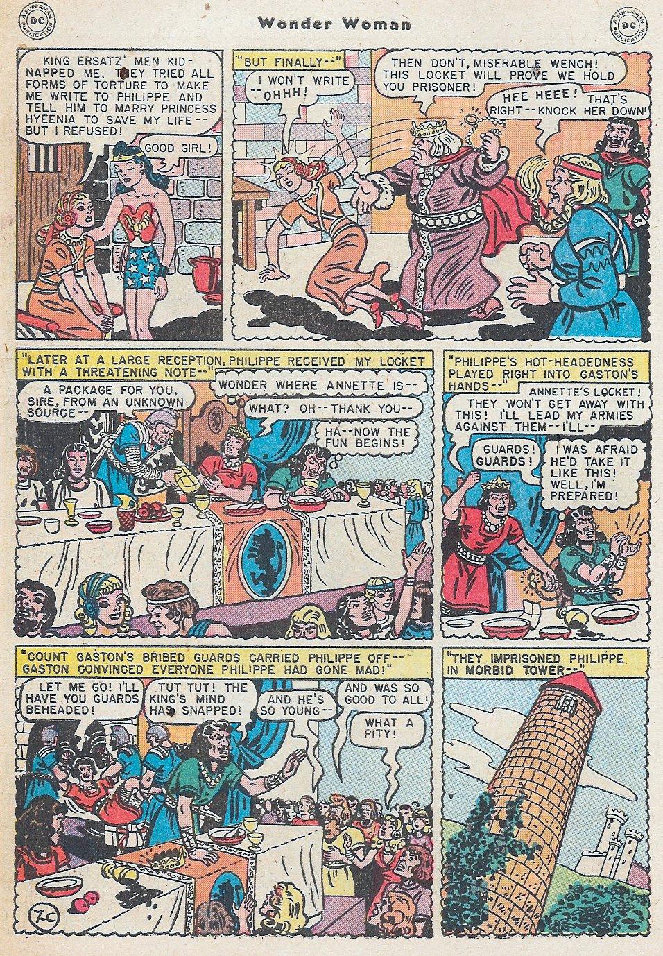 Read online Wonder Woman (1942) comic -  Issue #27 - 44