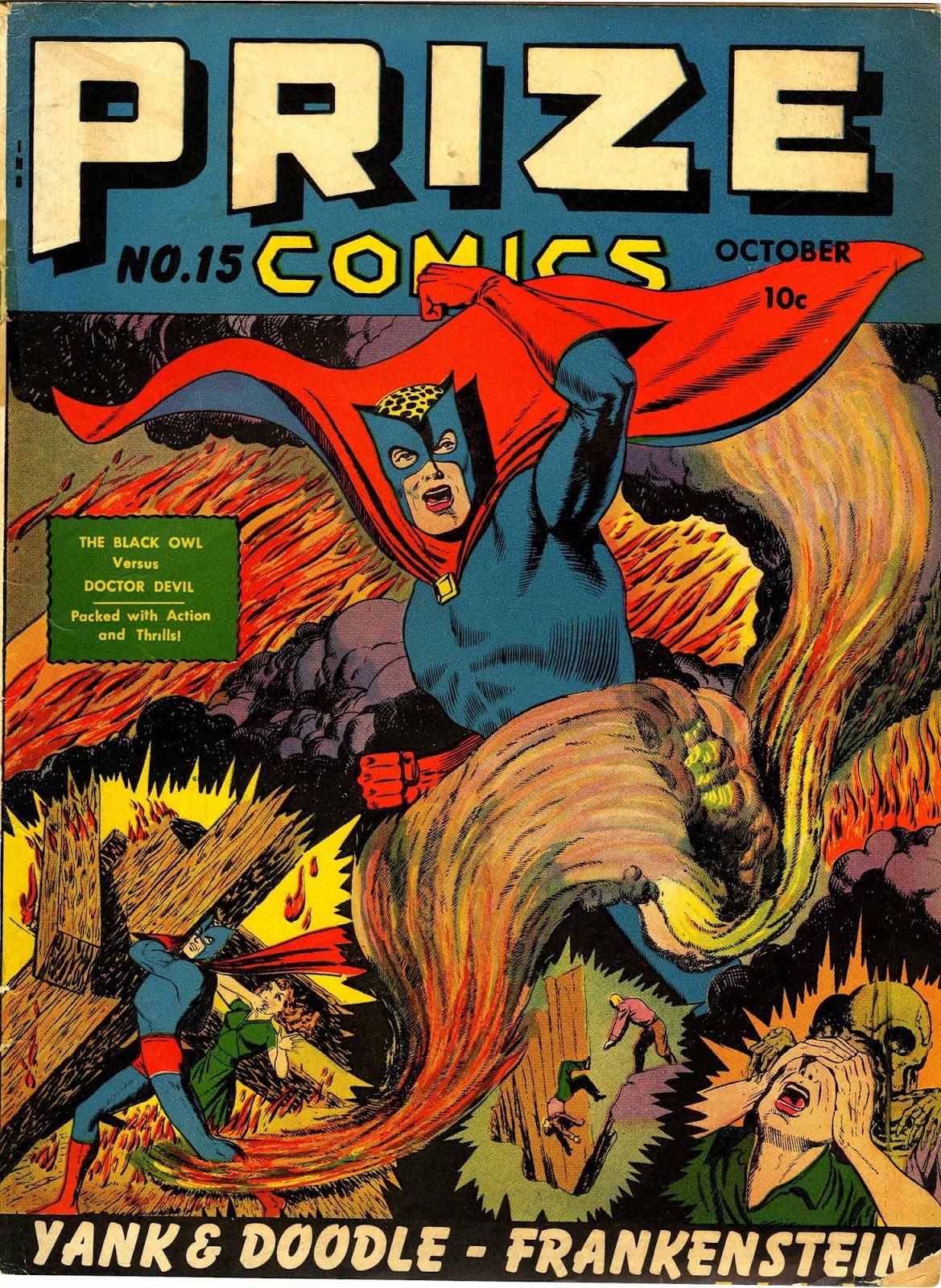 Prize Comics 15 Page 1