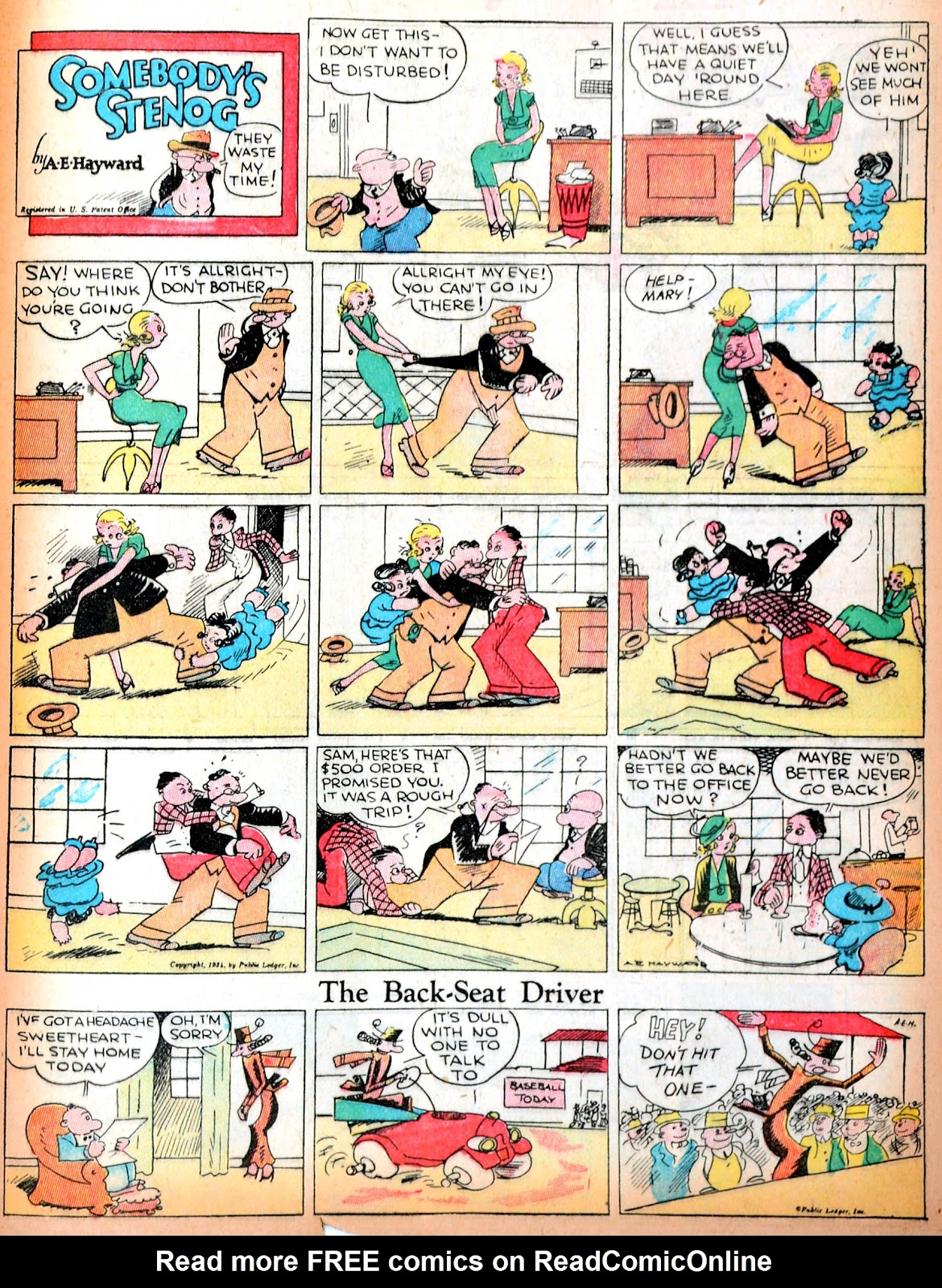 Read online Famous Funnies comic -  Issue #11 - 54