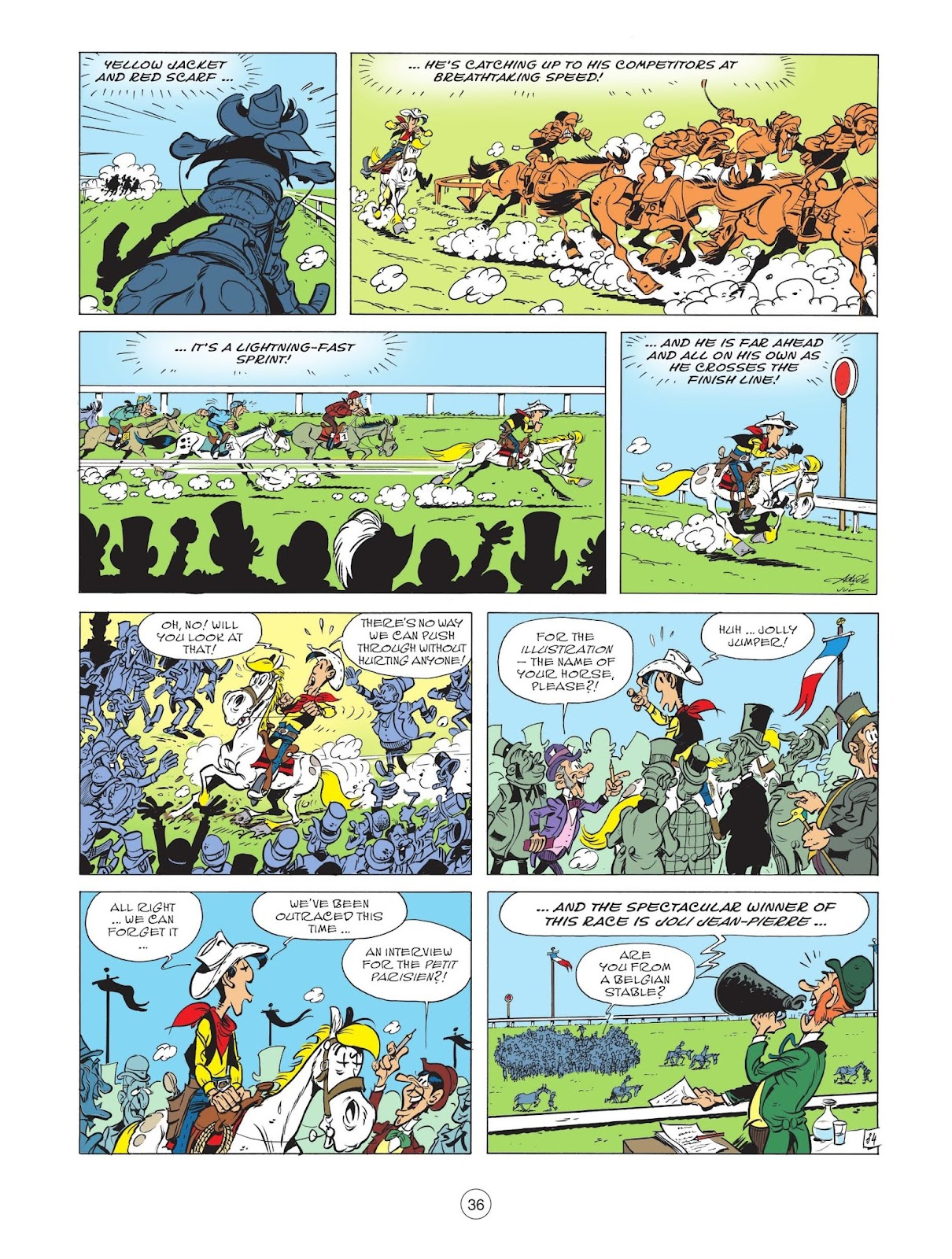 A Lucky Luke Adventure issue 71 - Page 38