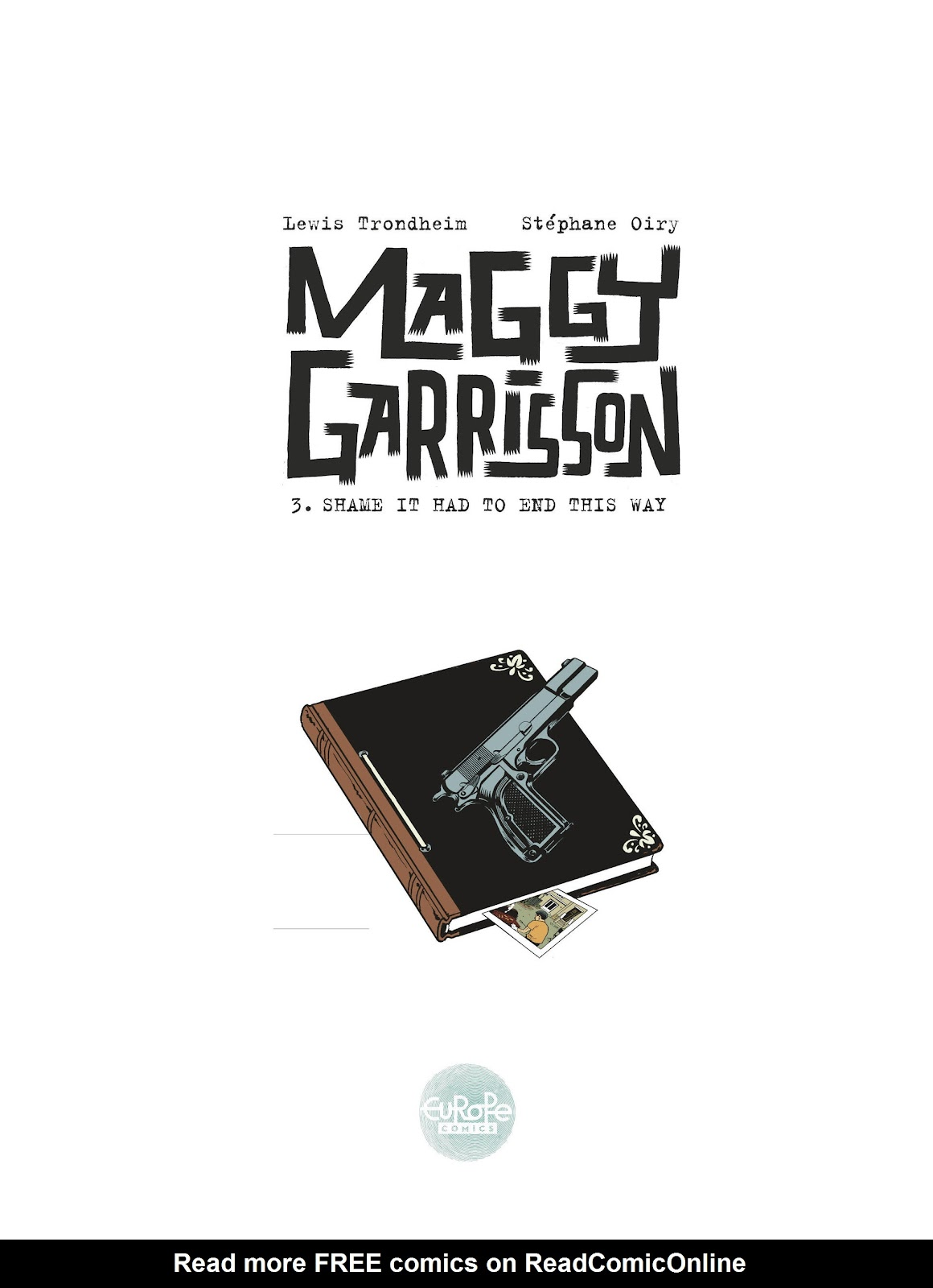 Read online Maggy Garrisson comic -  Issue #3 - 2