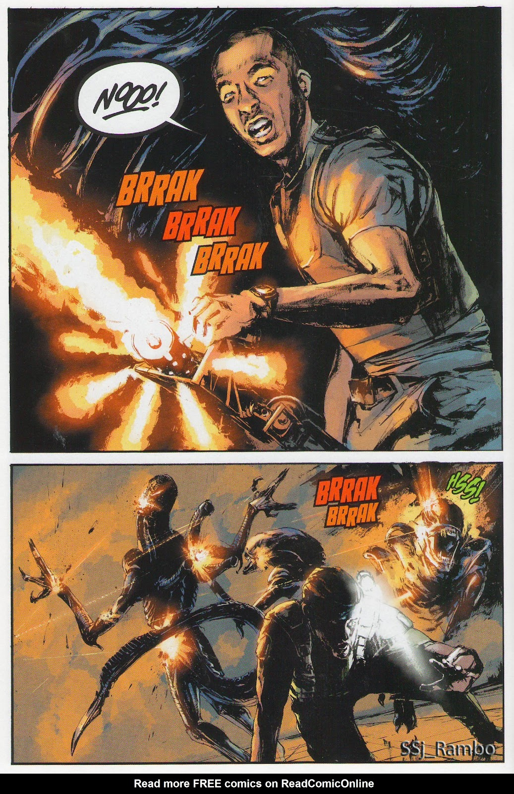 Read online Aliens: Colonial Marines - No Man Left Behind comic -  Issue # Full - 7