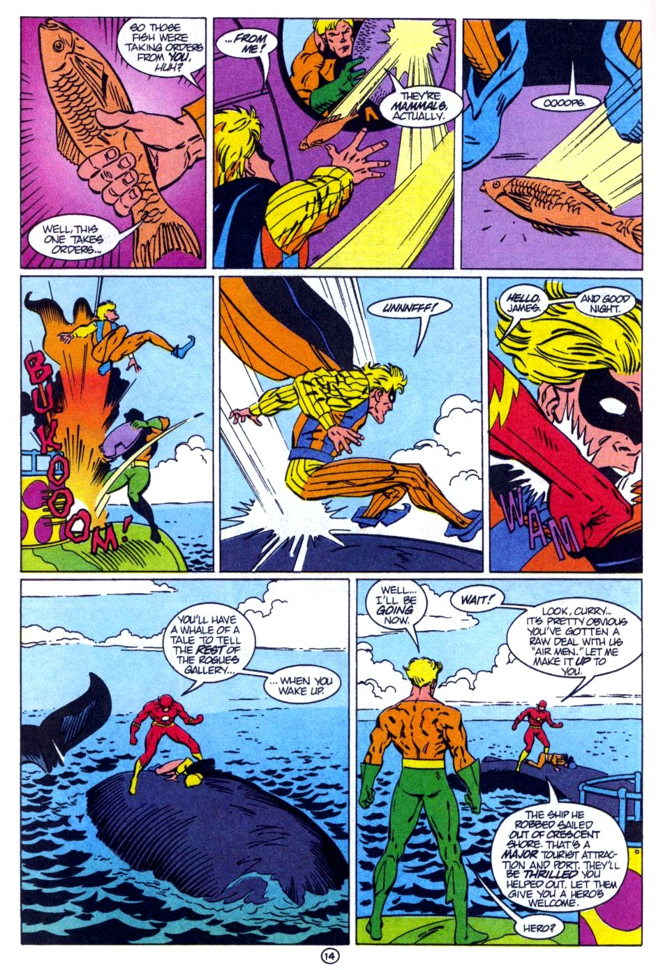 Read online Aquaman: Time and Tide comic -  Issue #1 - 15