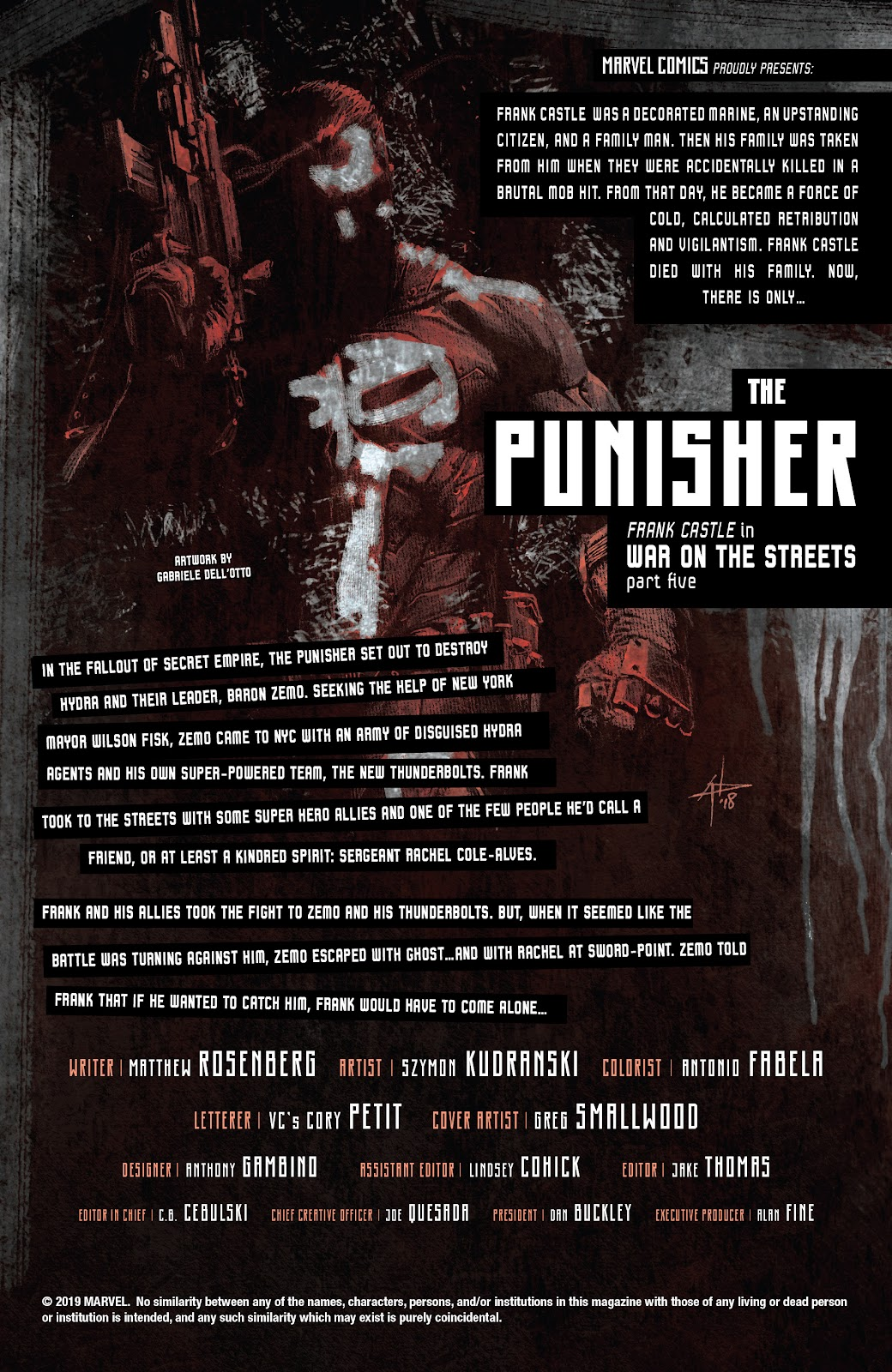 Read online The Punisher (2018) comic -  Issue #16 - 2
