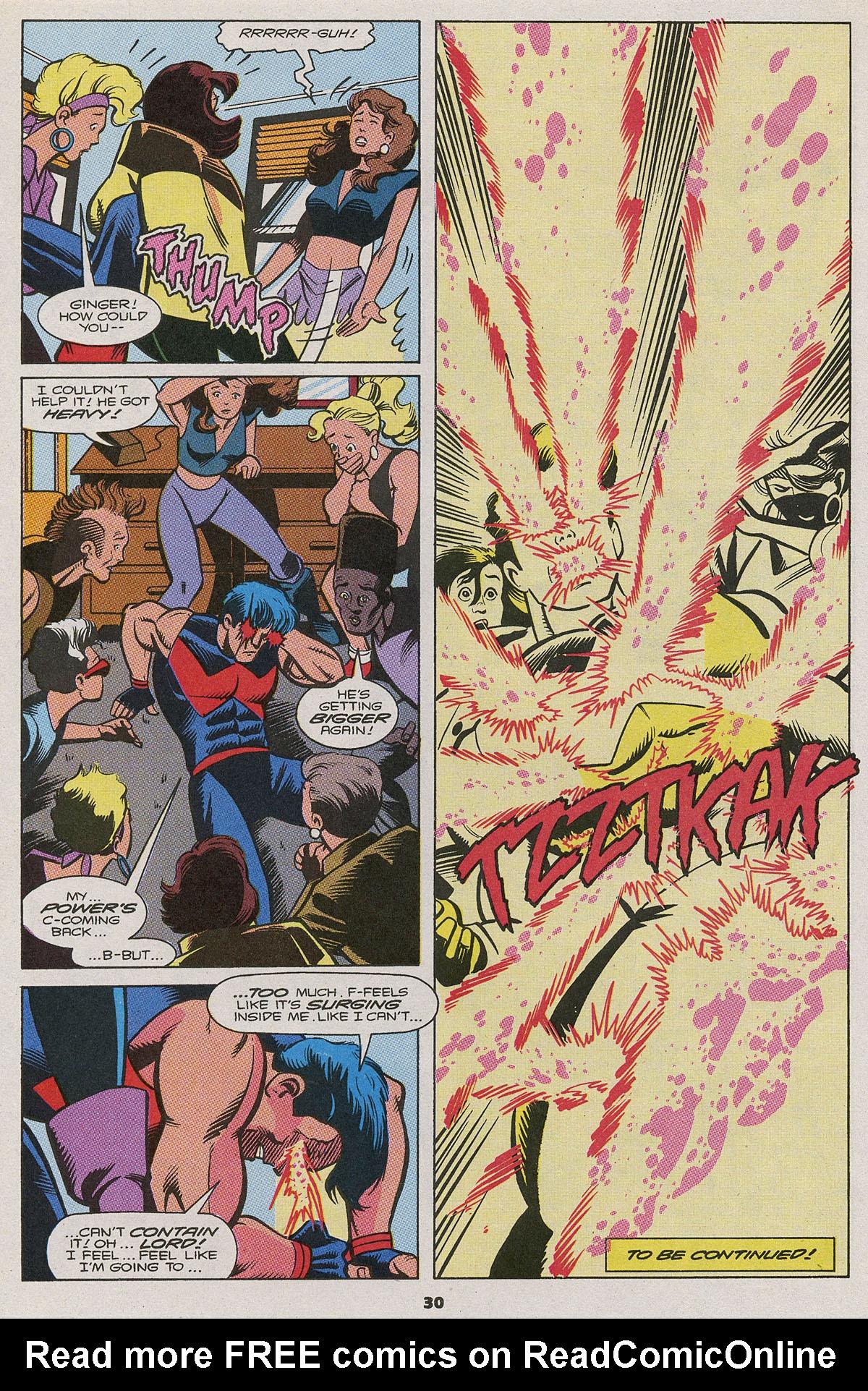 Read online Wonder Man (1991) comic -  Issue #11 - 22