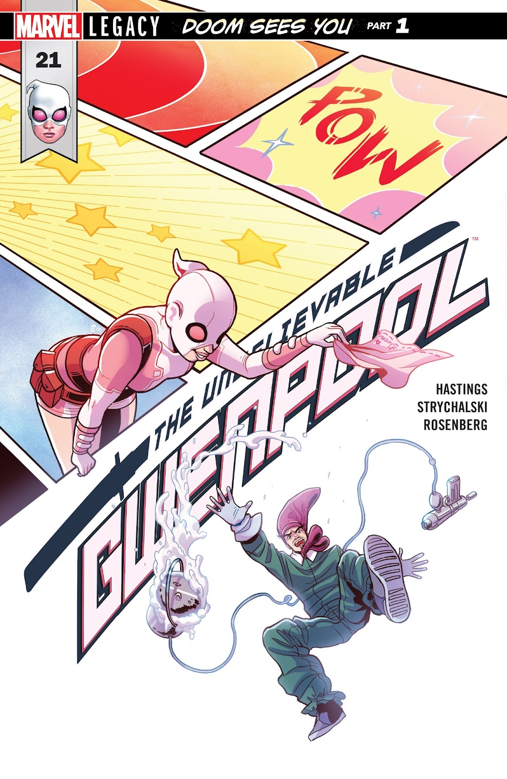 The Unbelievable Gwenpool 21 Page 1