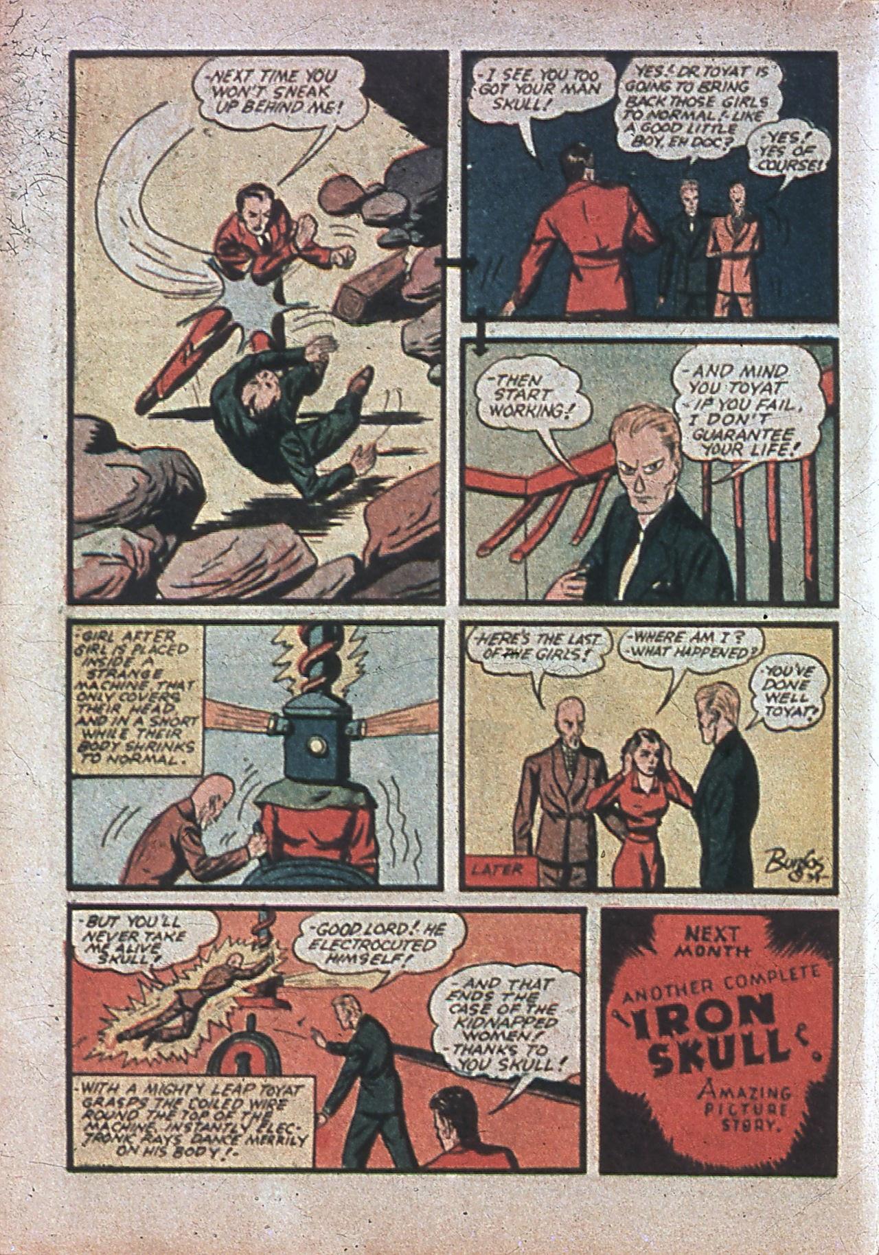 Read online Amazing Man Comics comic -  Issue #7 - 29