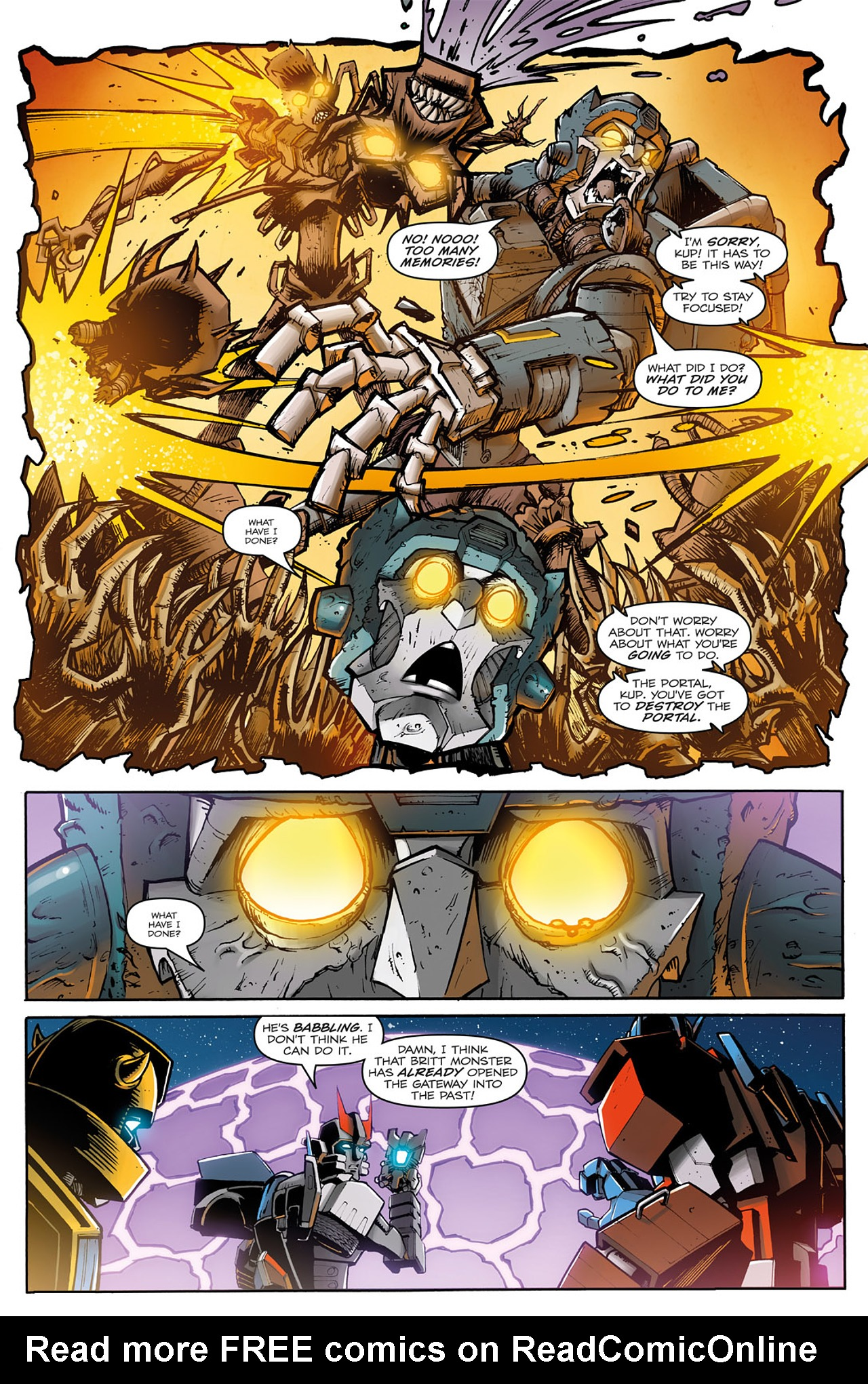 Read online Transformers: Infestation comic -  Issue #2 - 21