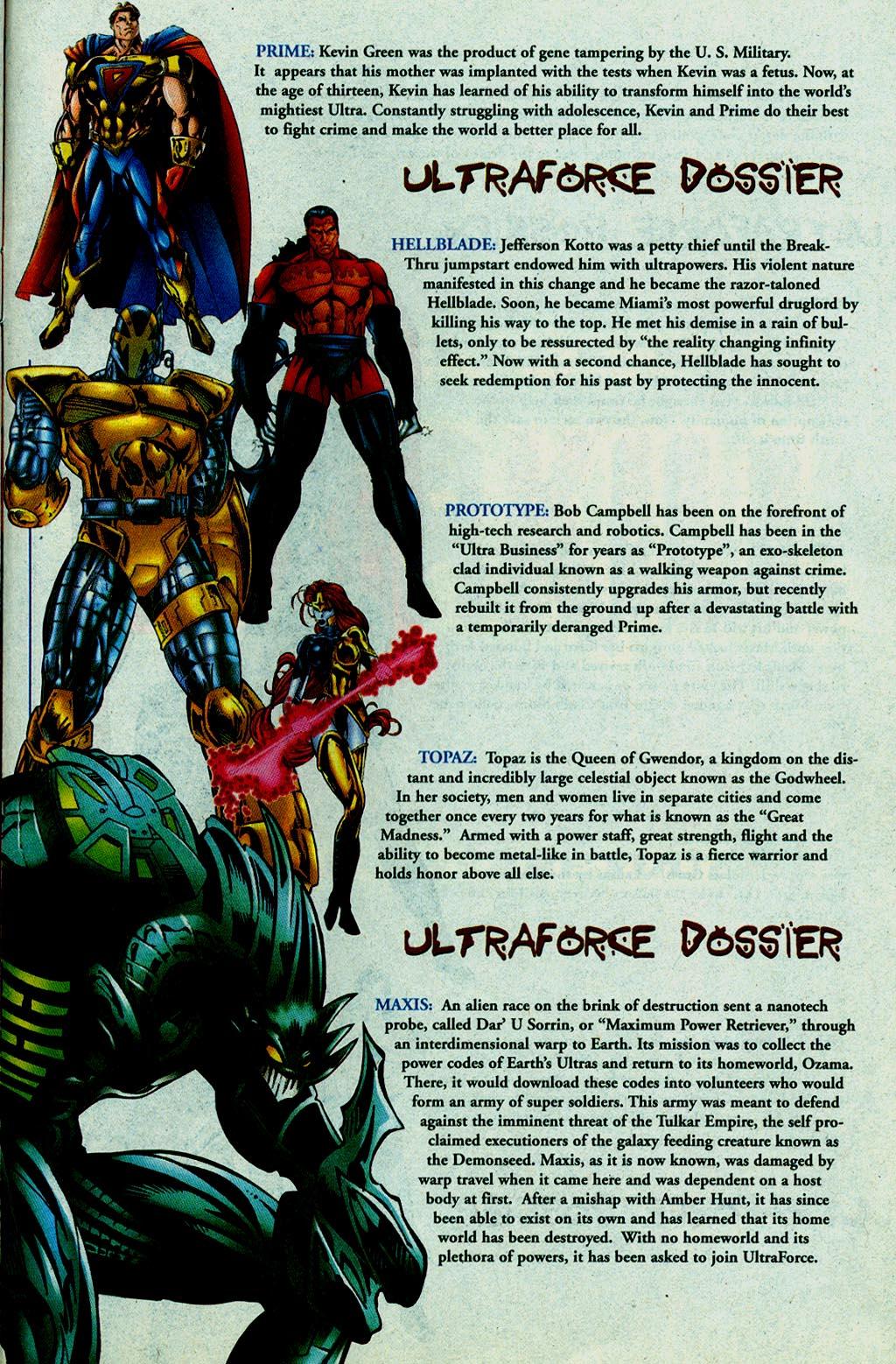Read online UltraForce (1995) comic -  Issue #14 - 23