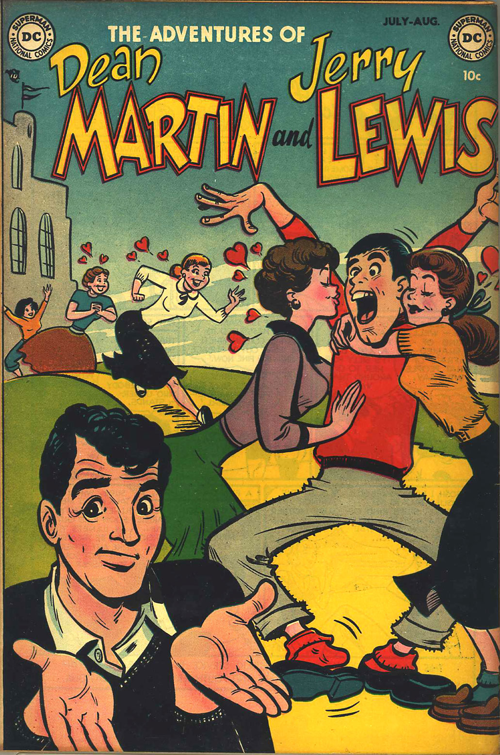 The Adventures of Dean Martin and Jerry Lewis 1 Page 1