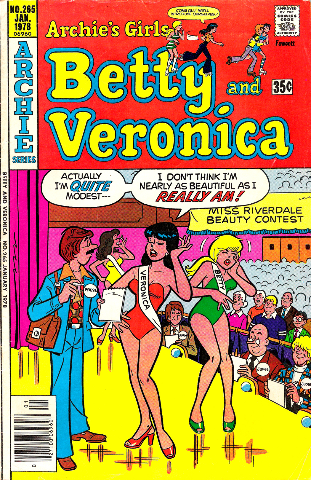 Read online Archie's Girls Betty and Veronica comic -  Issue #265 - 1