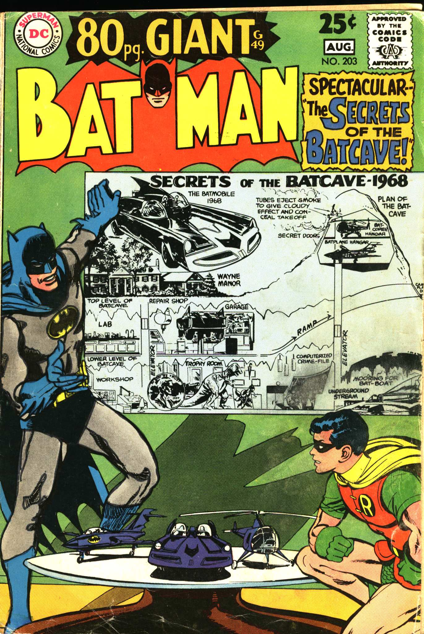Batman (1940) 203 Page 1