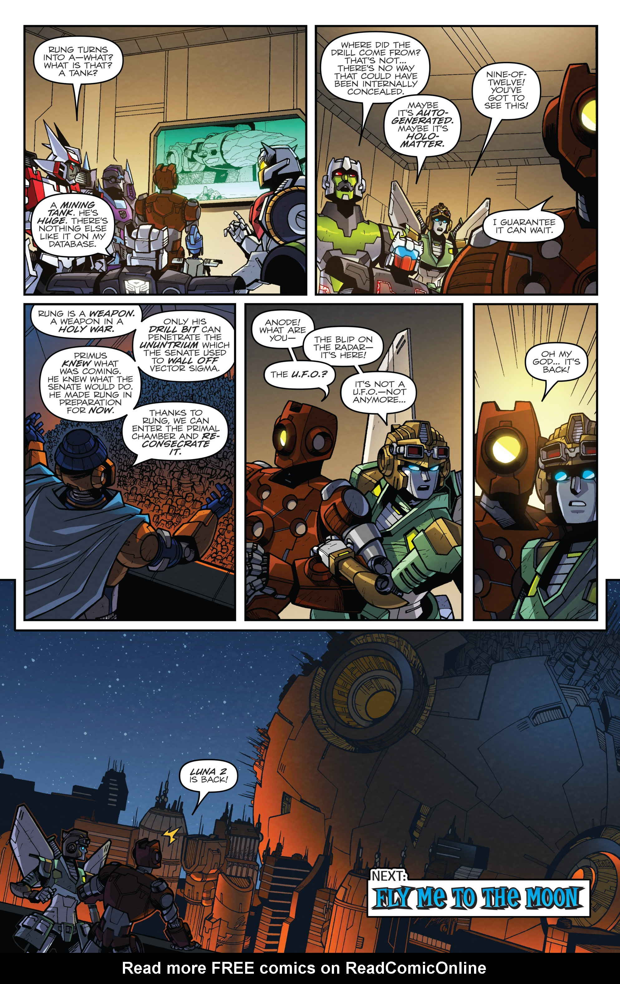 Read online Transformers: Lost Light comic -  Issue #3 - 22