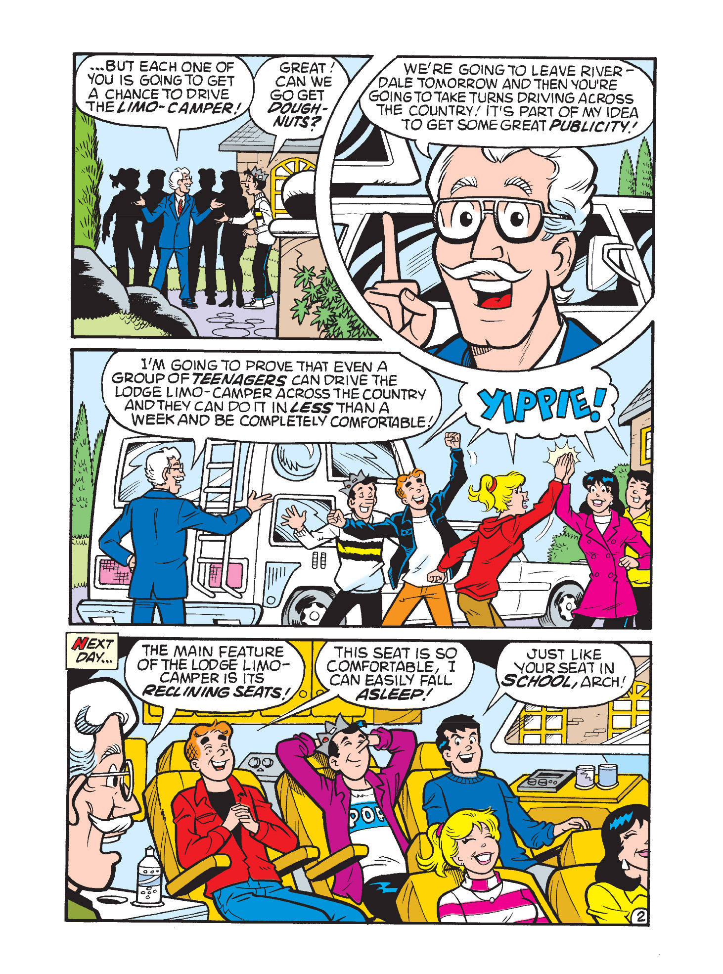 Read online Archie's Funhouse Double Digest comic -  Issue #3 - 9