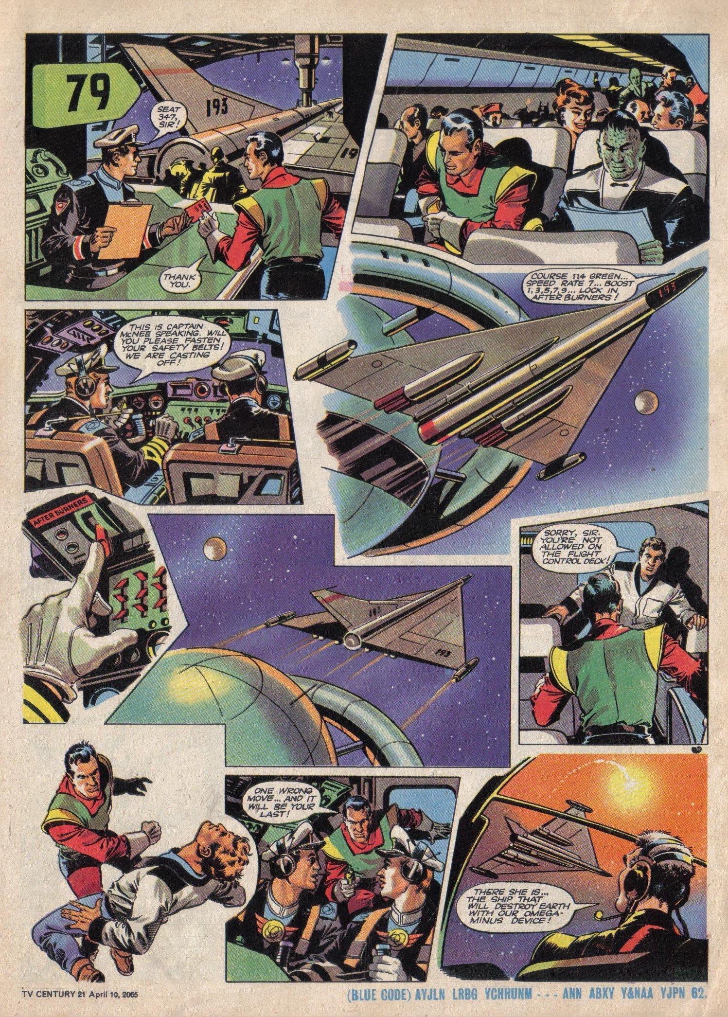 Read online TV Century 21 (TV 21) comic -  Issue #12 - 5