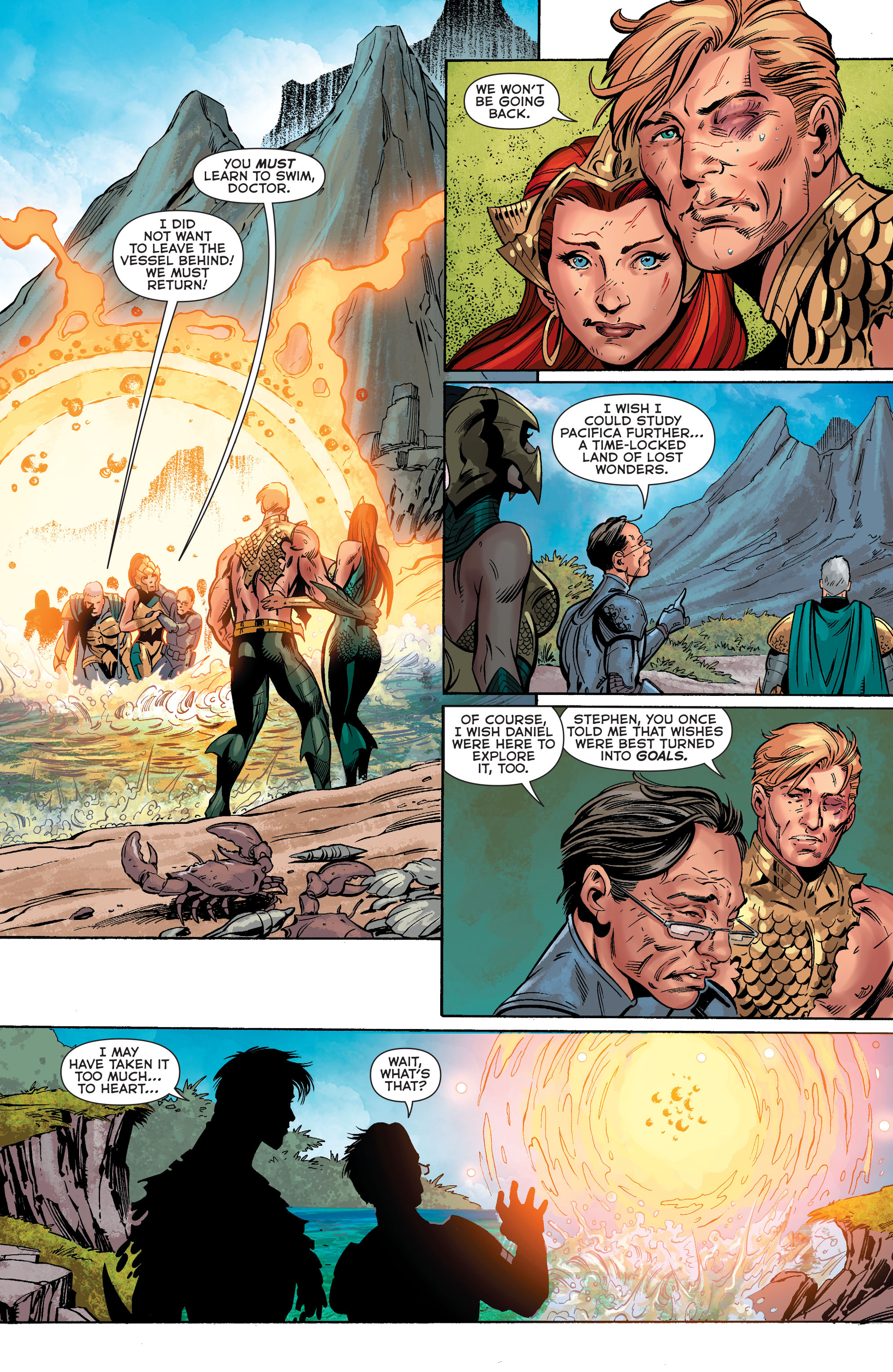 Read online Aquaman (2011) comic -  Issue #40 - 17