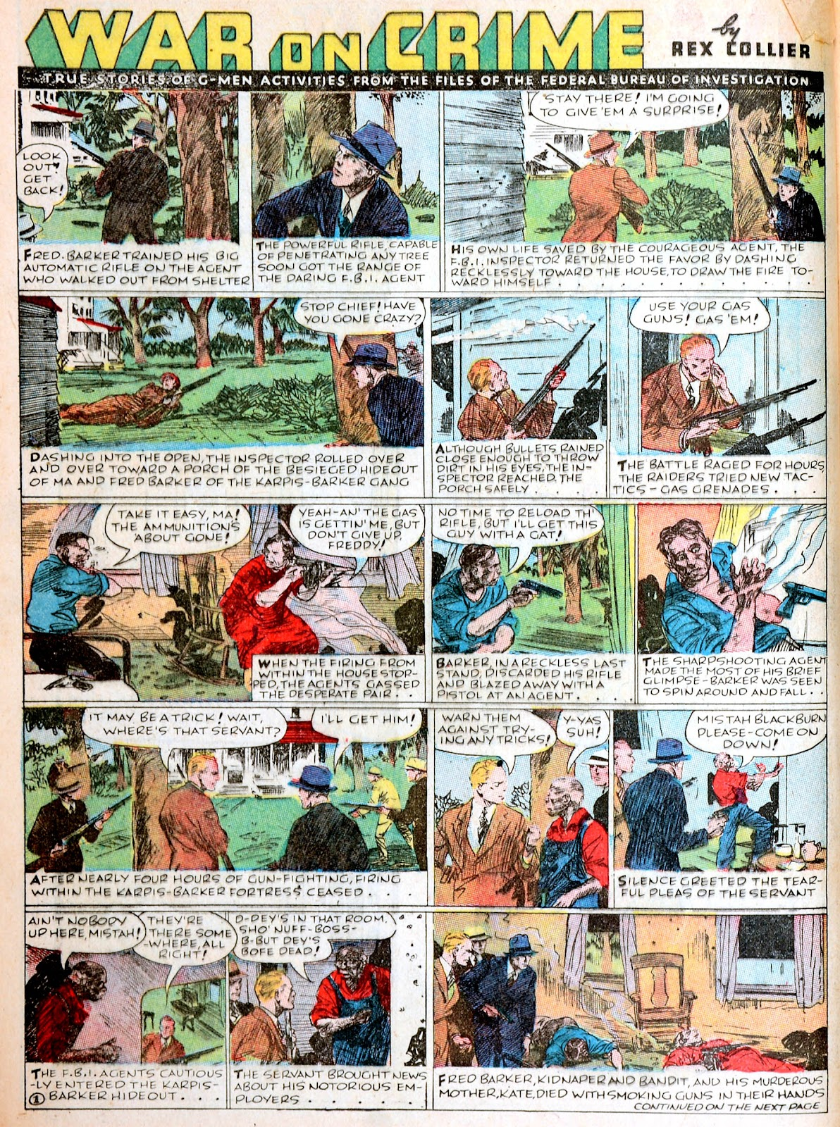 Read online Famous Funnies comic -  Issue #38 - 24