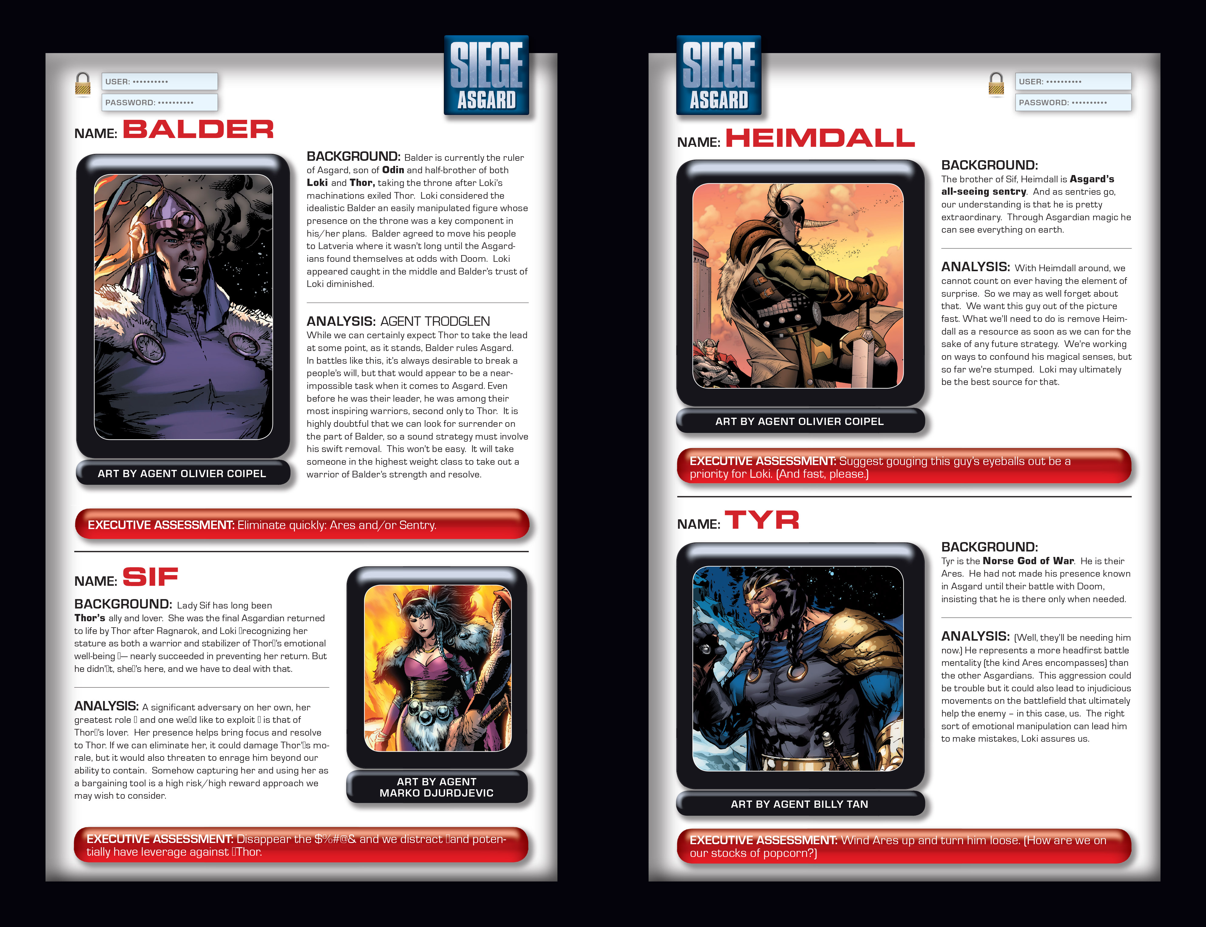 Read online Siege: Storming Asgard - Heroes and Villains comic -  Issue # Full - 9
