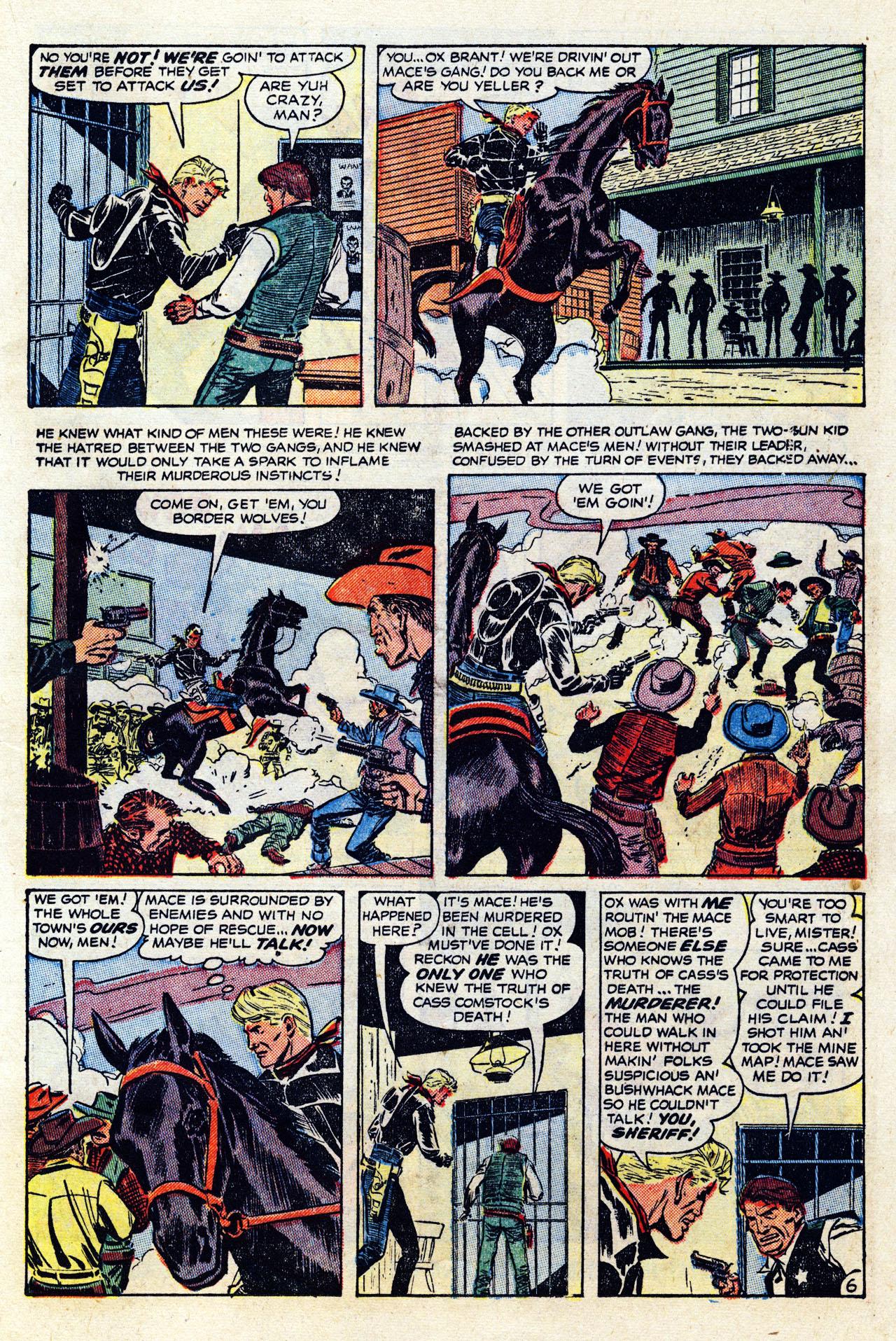 Read online Two-Gun Kid comic -  Issue #12 - 16