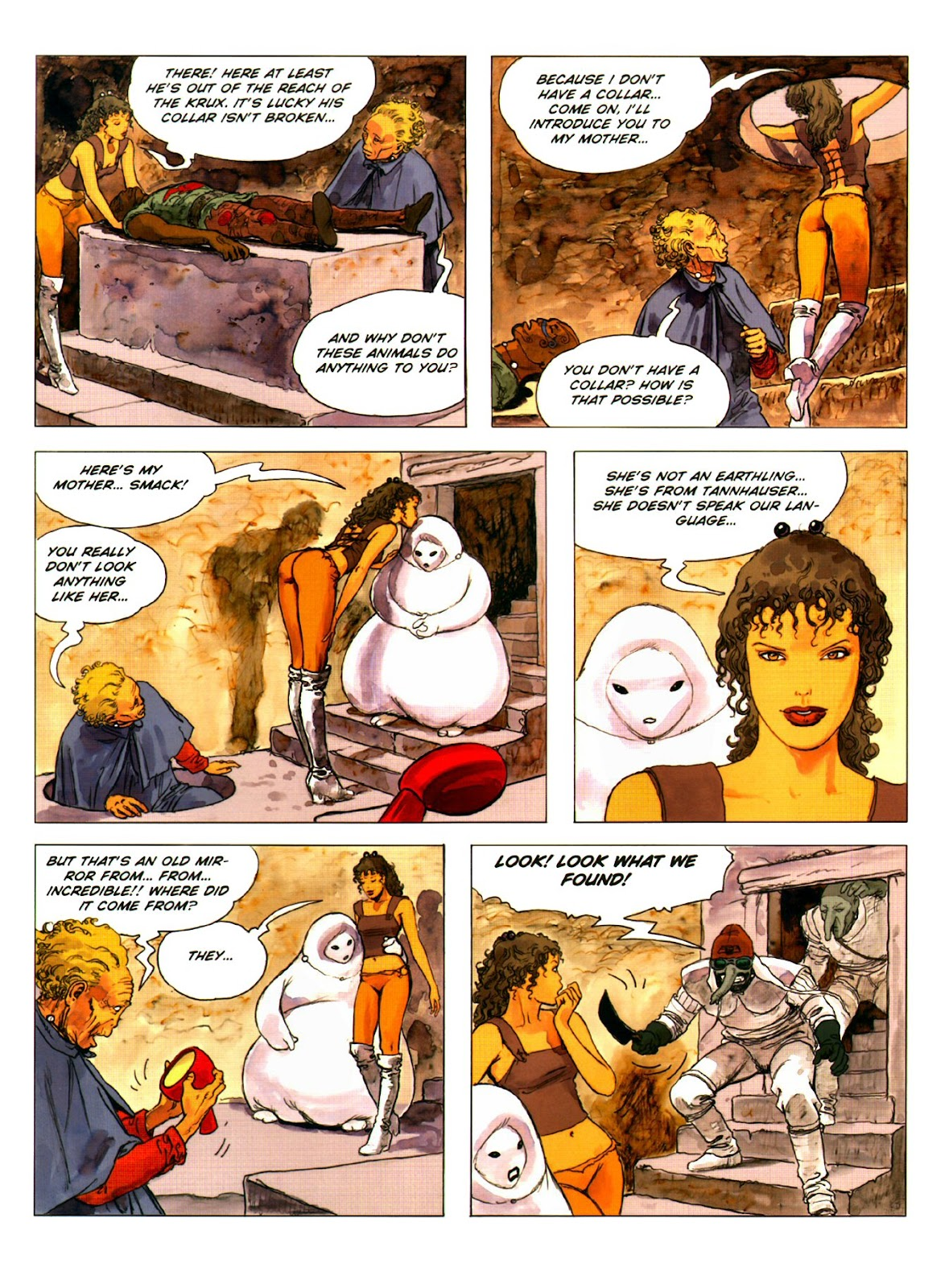 Read online Piranese The Prison Planet comic -  Issue # Full - 18