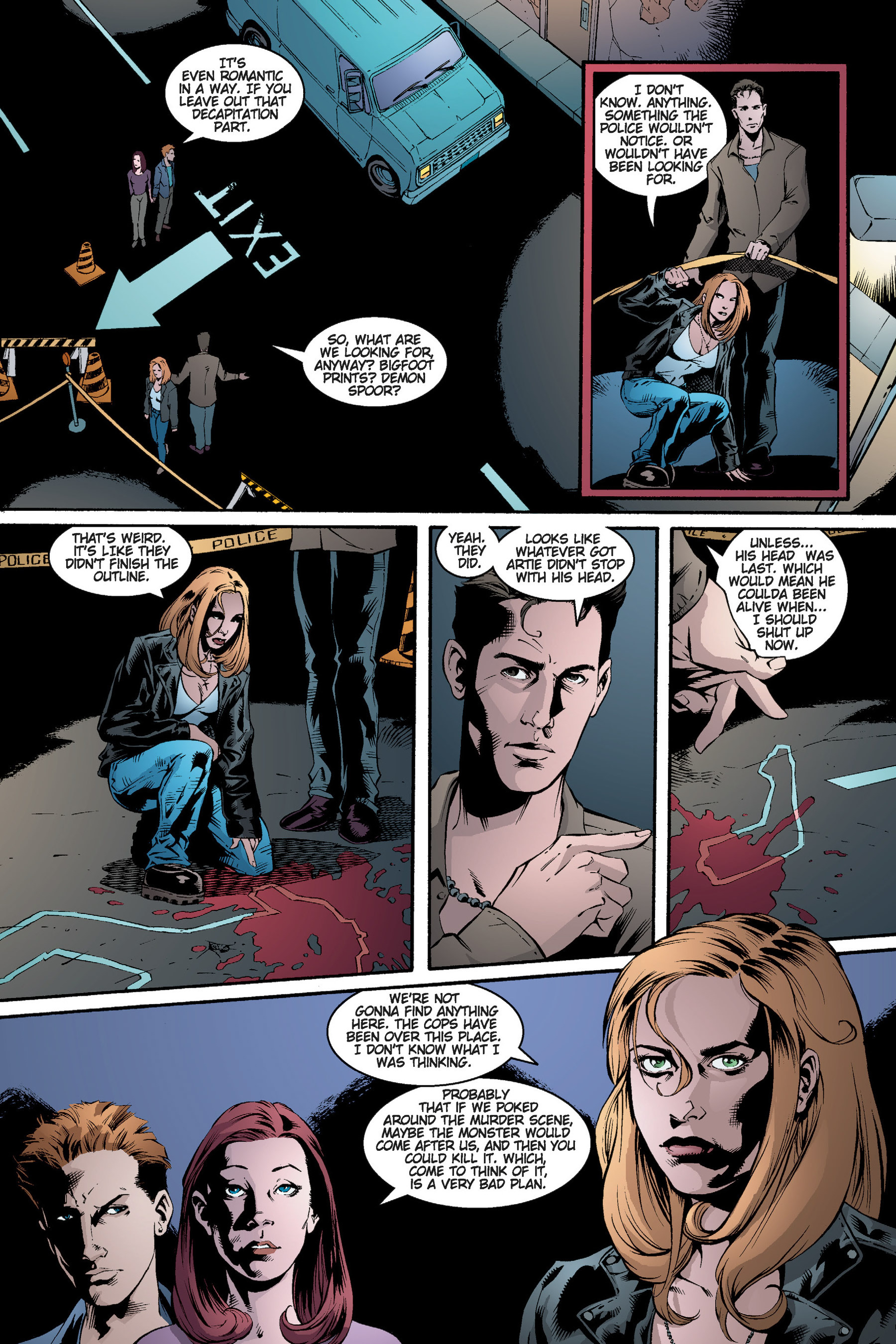 Read online Buffy the Vampire Slayer: Omnibus comic -  Issue # TPB 3 - 210