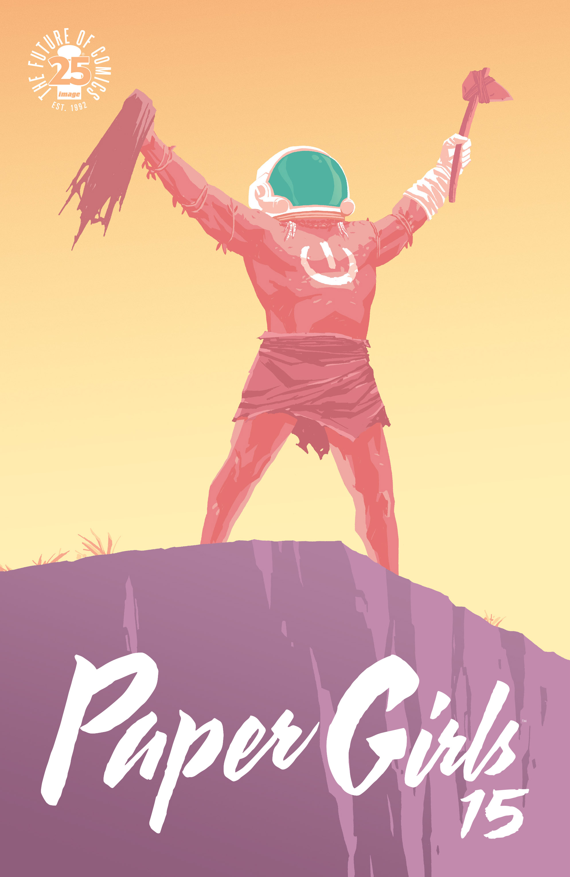 Read online Paper Girls comic -  Issue #15 - 1