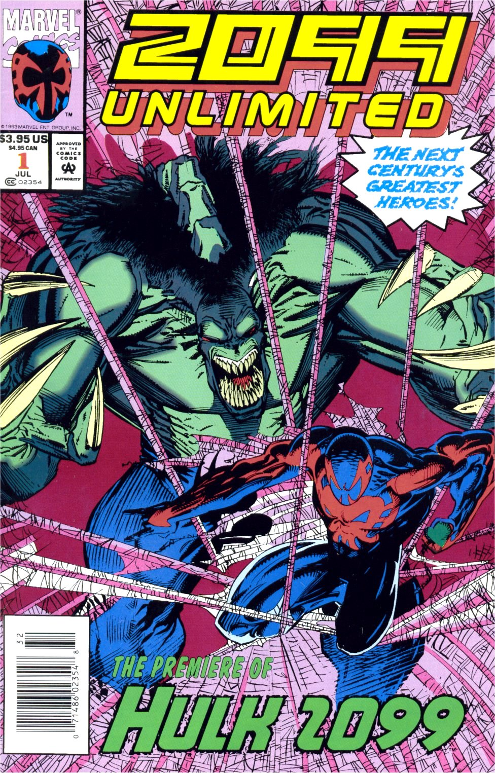 Read online 2099 Unlimited comic -  Issue #1 - 1
