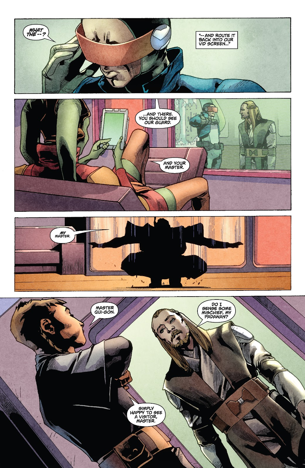 Read online Star Wars Legends: Rise of the Sith - Epic Collection comic -  Issue # TPB 1 (Part 2) - 12