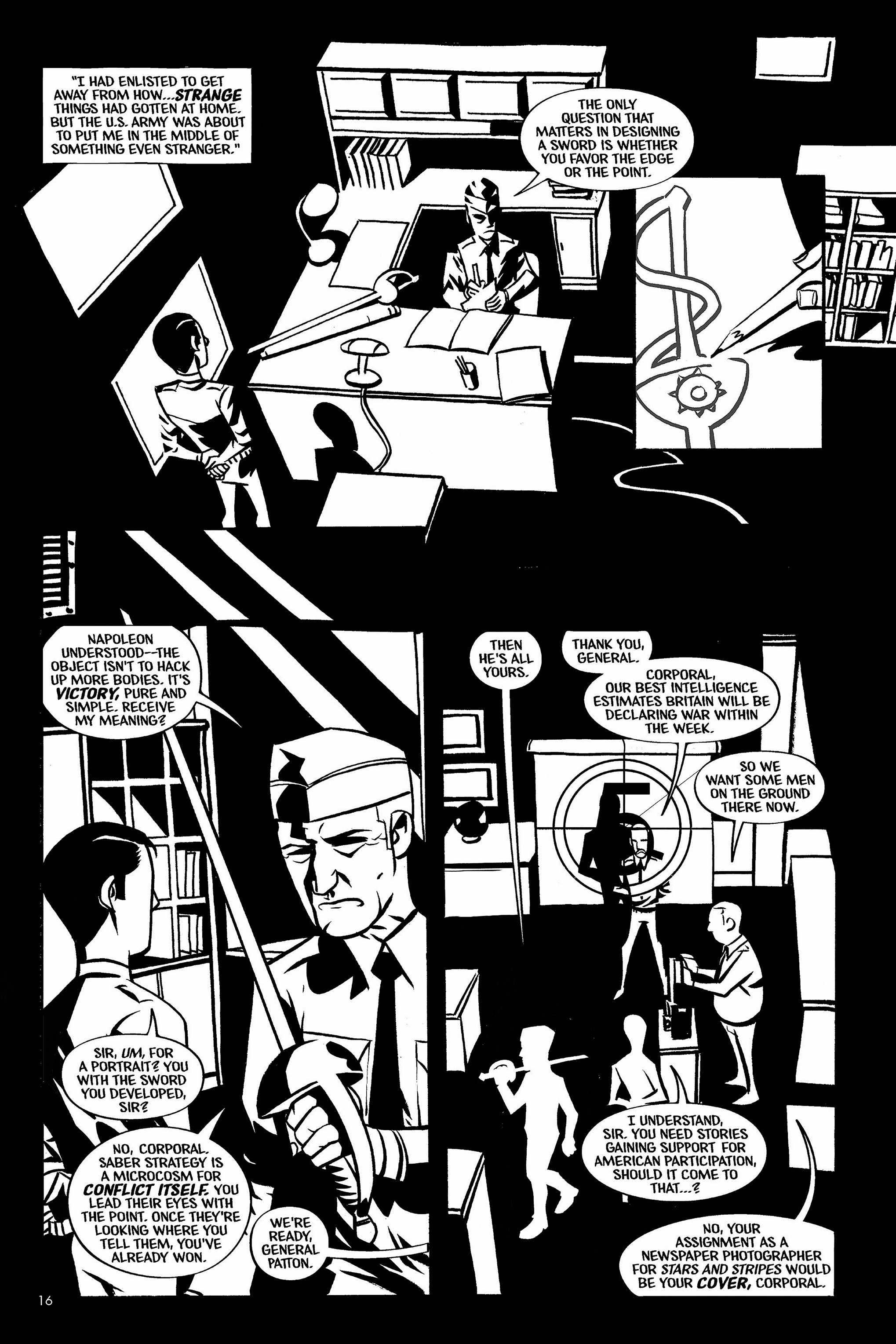 Read online Aleister & Adolf comic -  Issue # TPB - 16