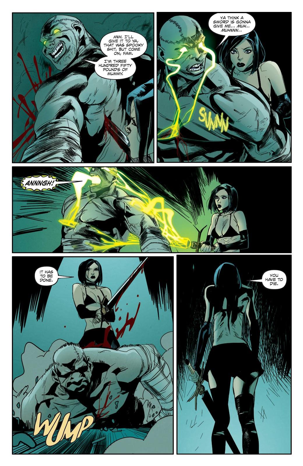 Read online Hack/Slash vs. Chaos comic -  Issue #3 - 13