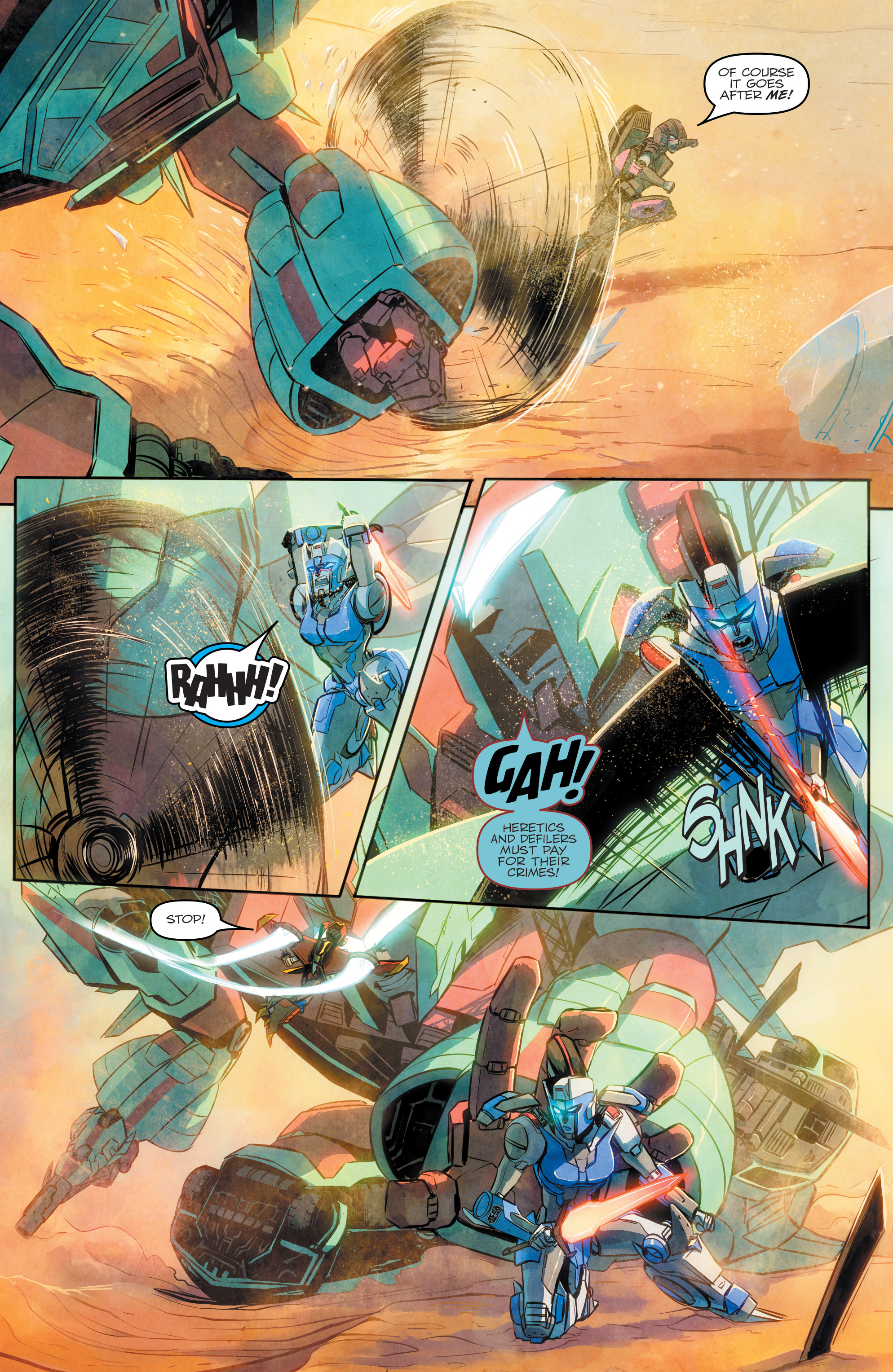 Read online Transformers: Combiner Hunters comic -  Issue # Full - 19