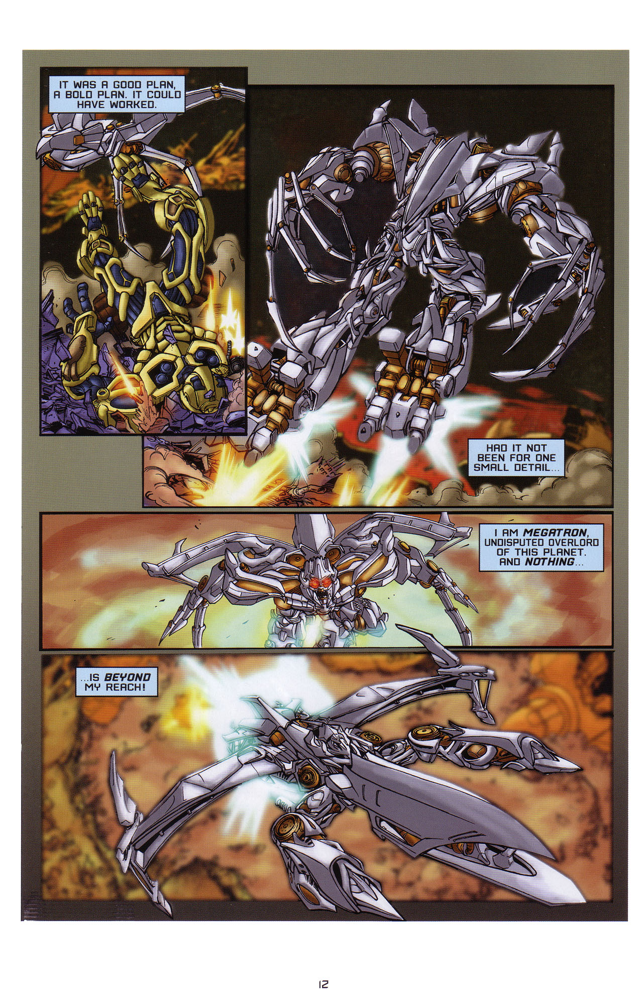 Read online Transformers: Saga of the Allspark comic -  Issue #1 - 13