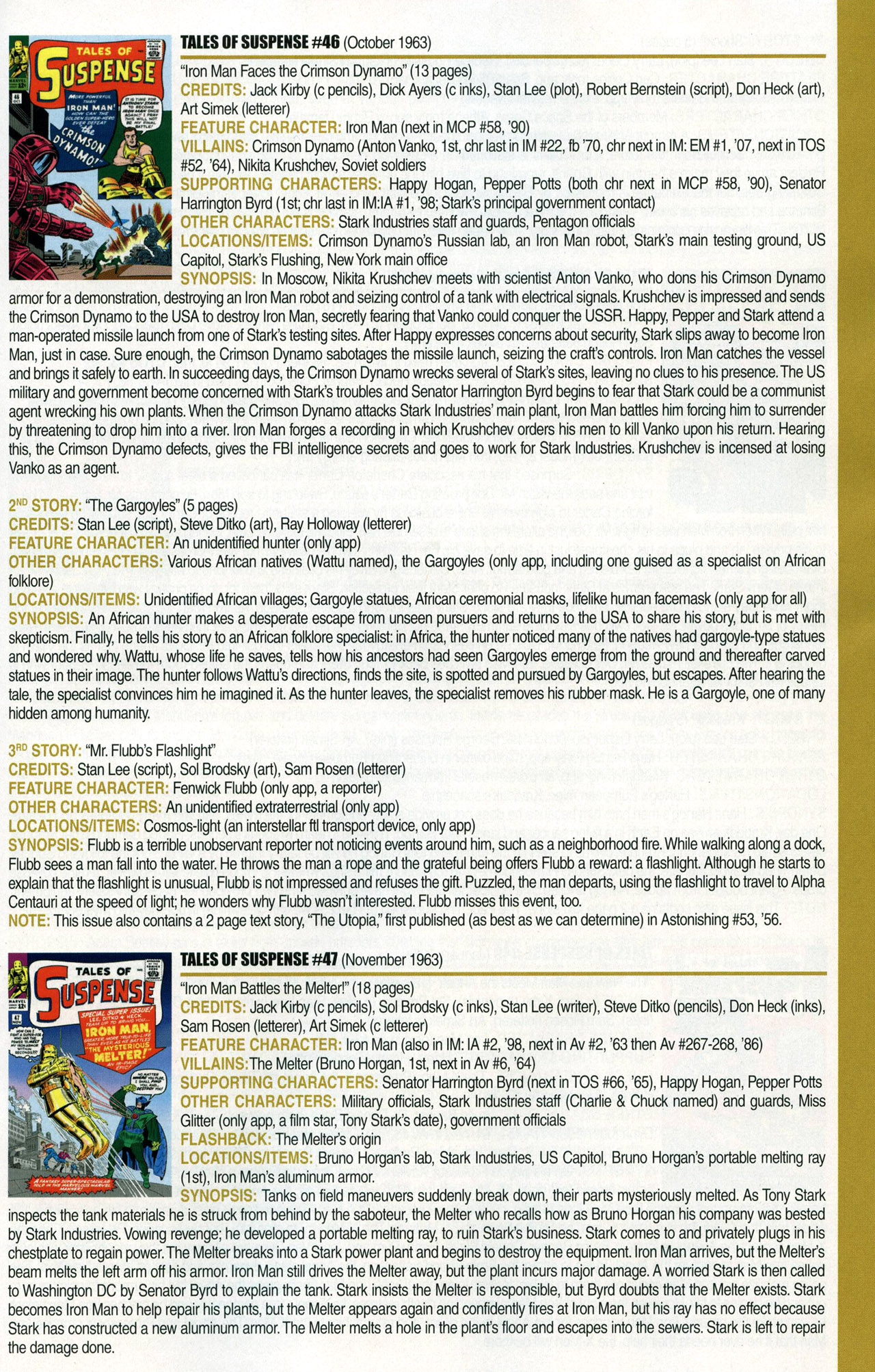 Read online Official Index to the Marvel Universe comic -  Issue #1 - 29