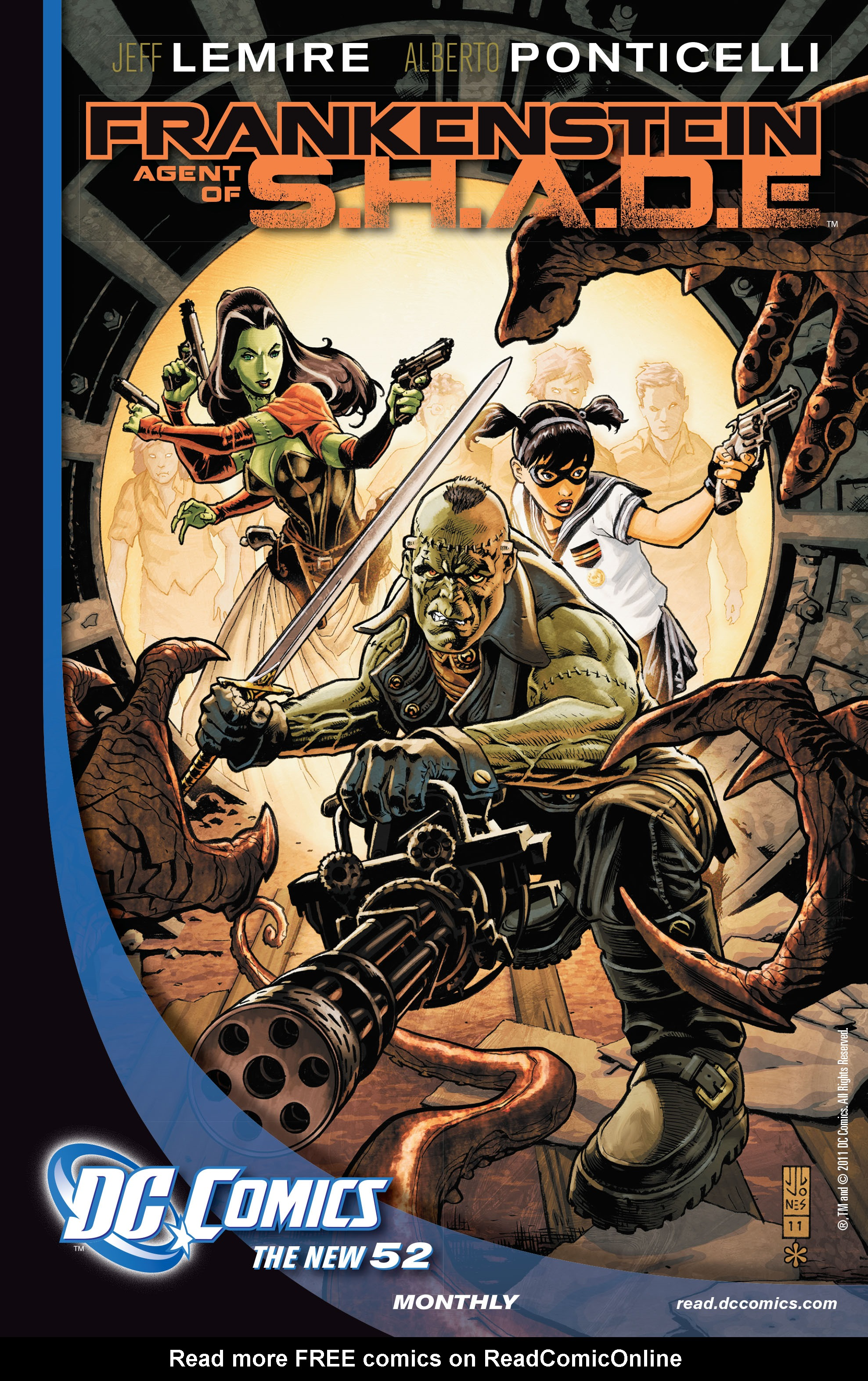 Read online All-Star Western (2011) comic -  Issue #7 - 30