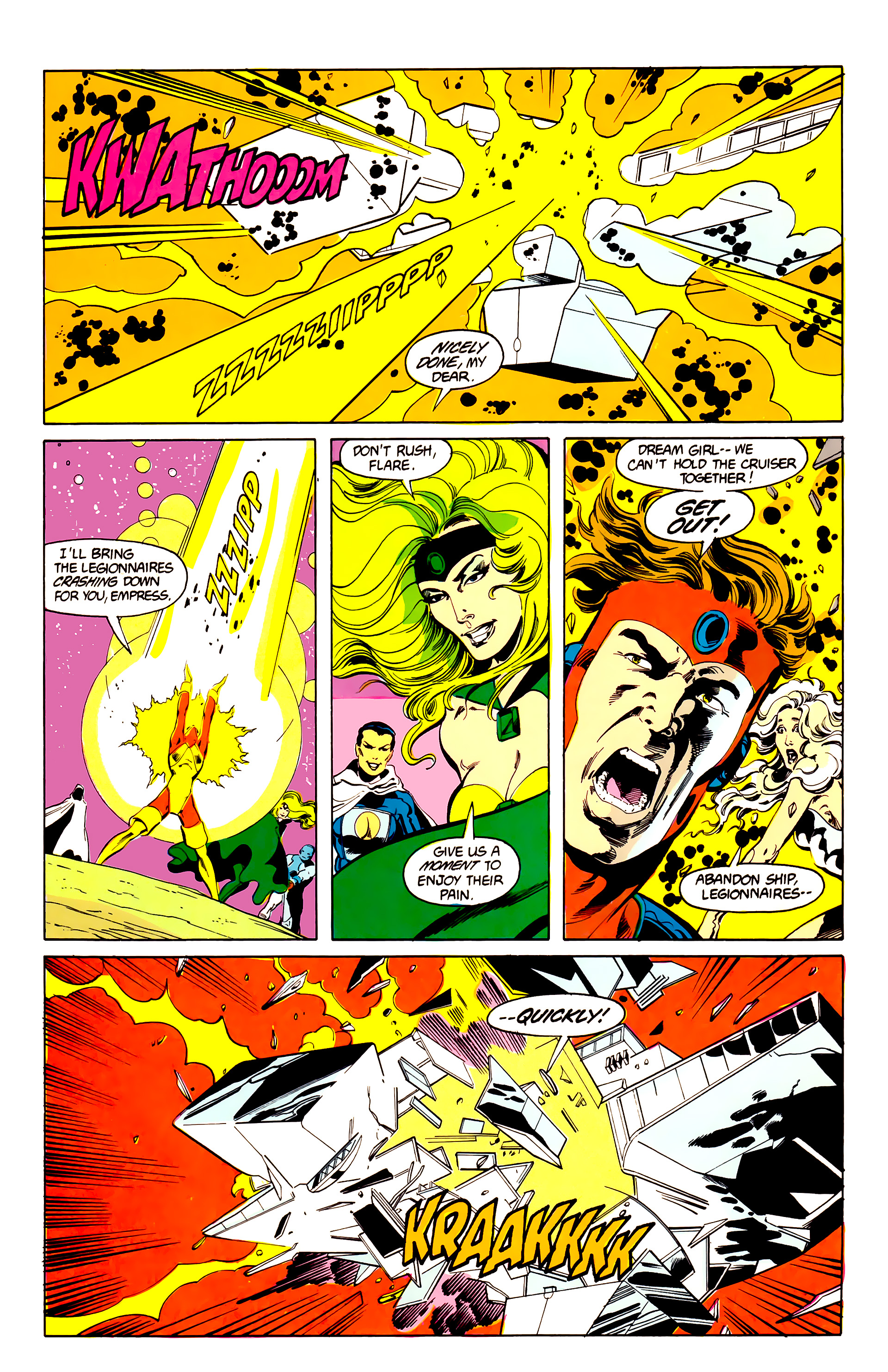Legion of Super-Heroes (1984) 25 Page 19
