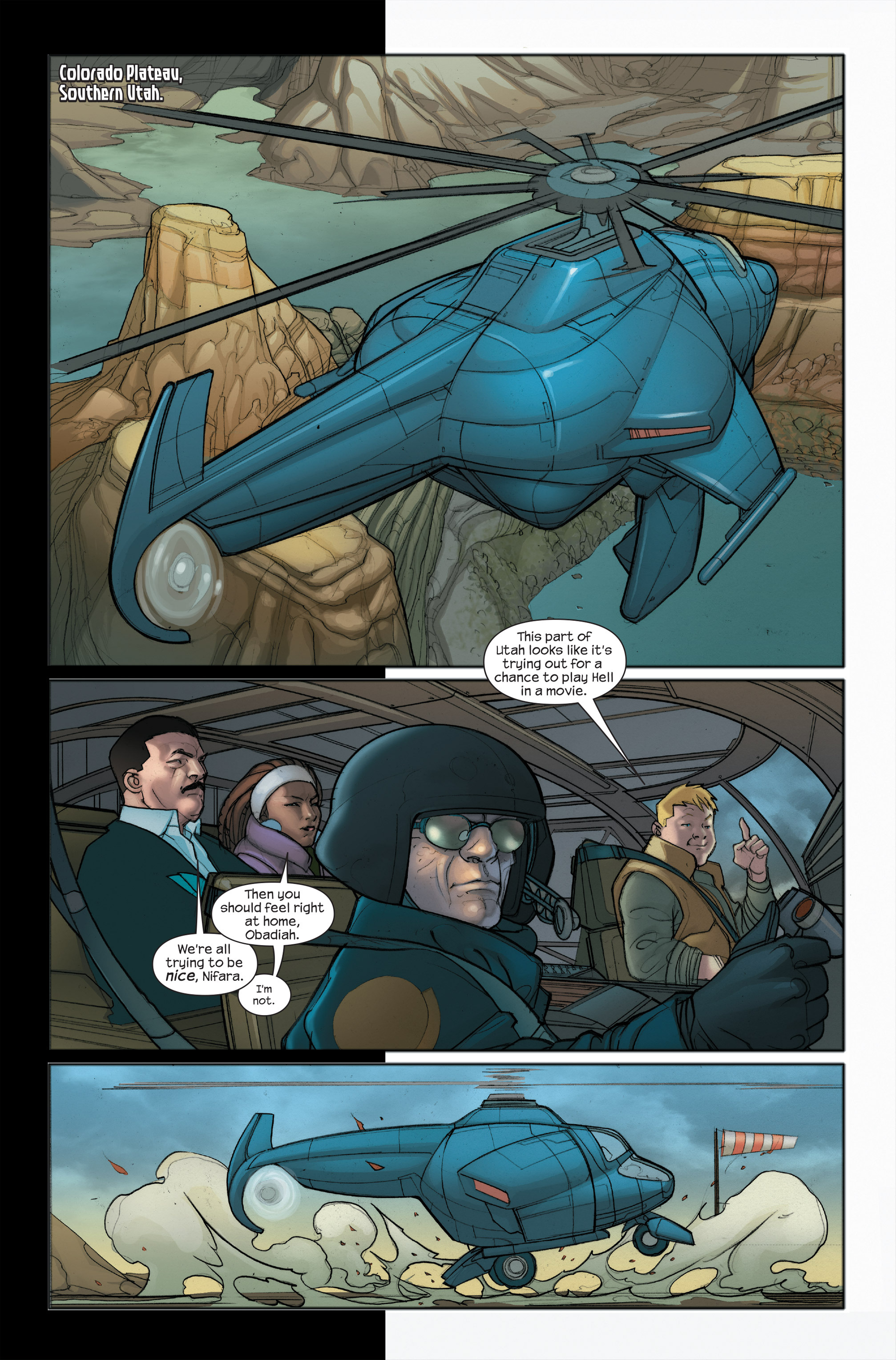 Read online Ultimate Iron Man II comic -  Issue #5 - 3