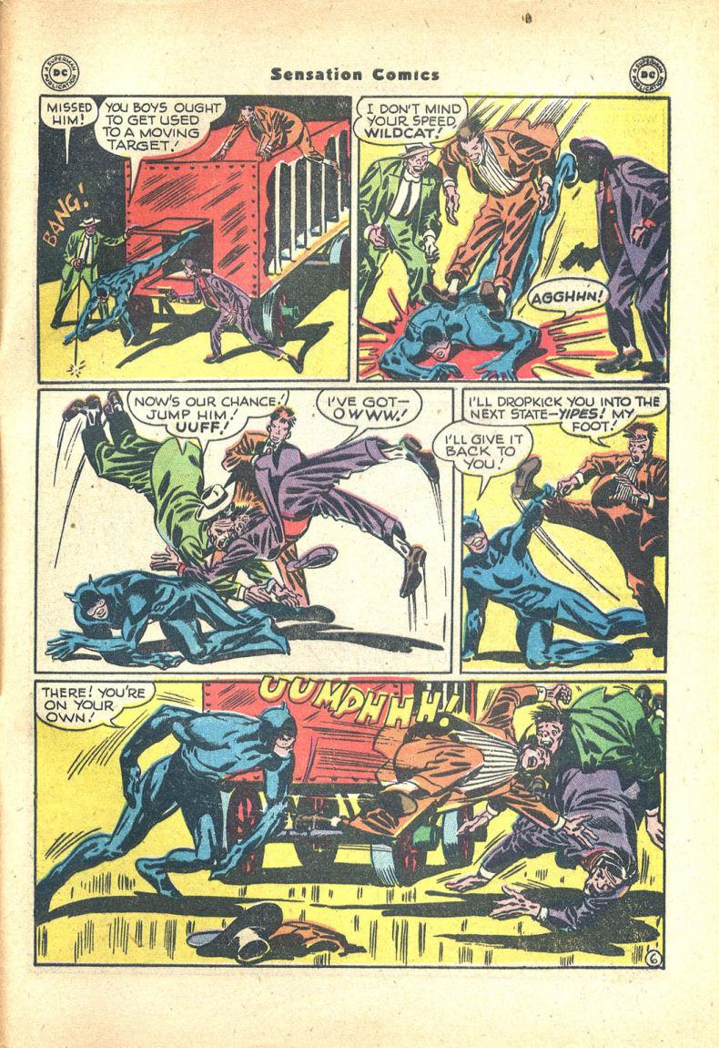 Read online Sensation (Mystery) Comics comic -  Issue #68 - 47