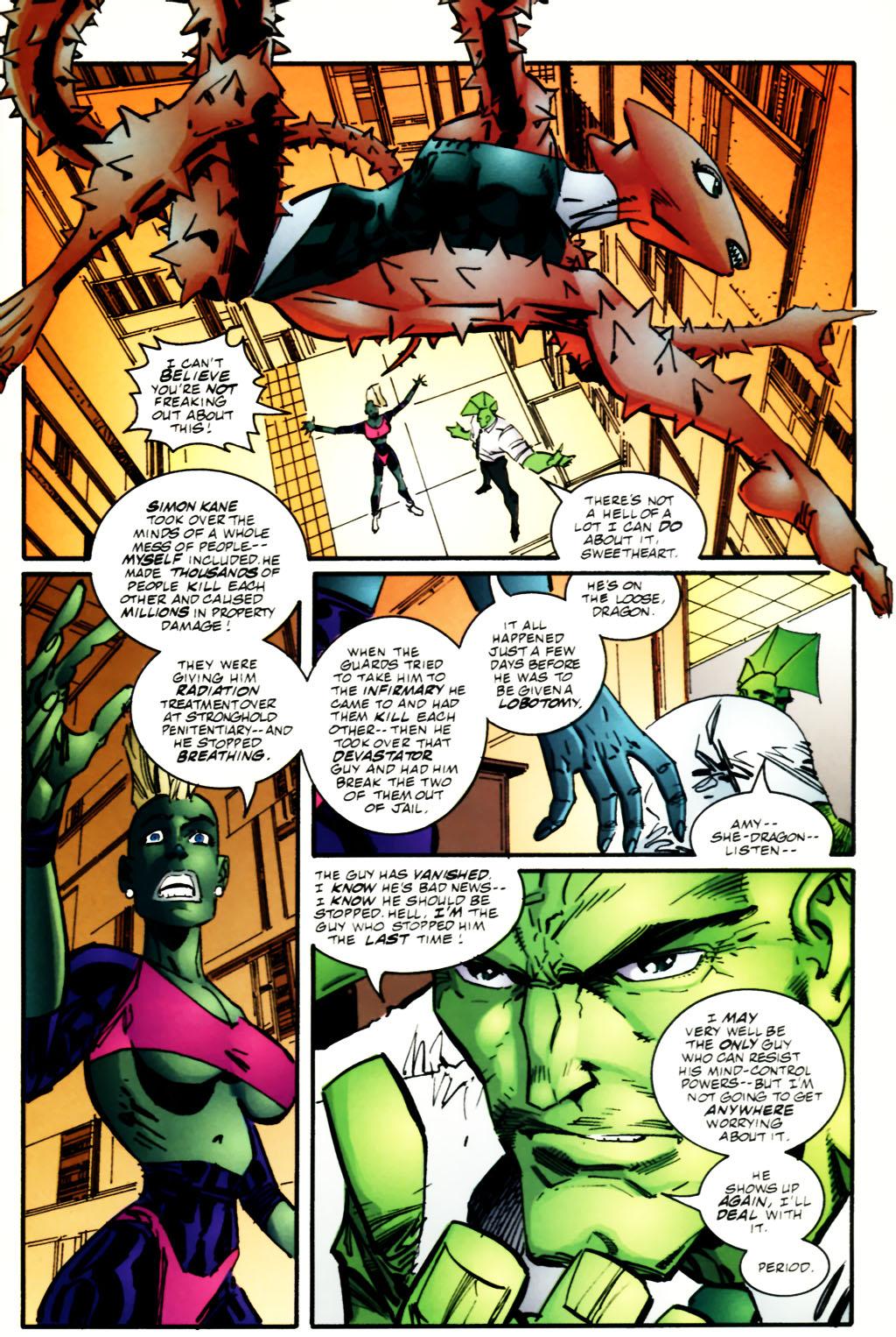 The Savage Dragon (1993) Issue #60 #63 - English 5