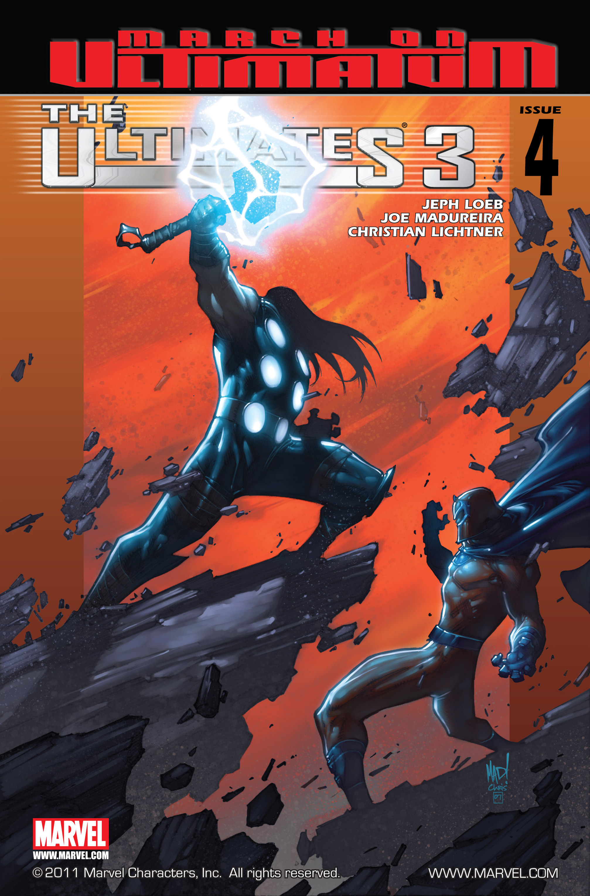 Read online Ultimates 3 comic -  Issue #4 - 1