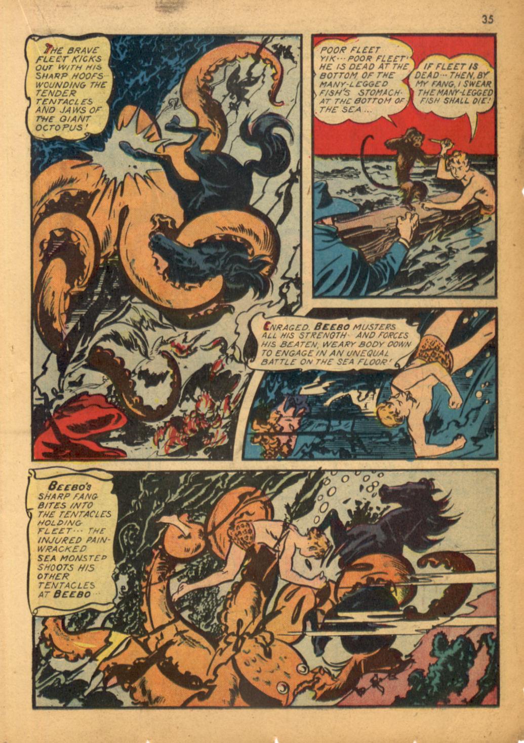 Read online Shadow Comics comic -  Issue #32 - 36