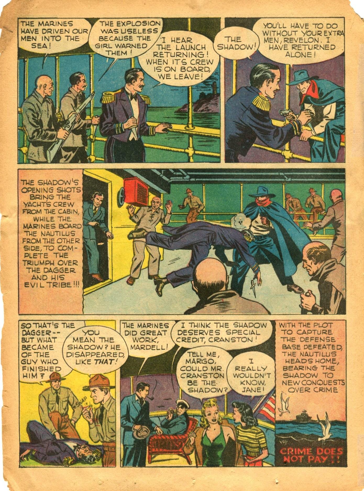 Read online Shadow Comics comic -  Issue #12 - 30