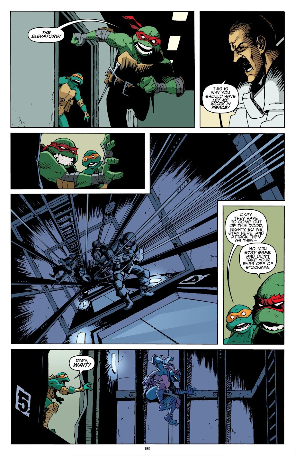 Read online Teenage Mutant Ninja Turtles: The IDW Collection comic -  Issue # TPB 8 (Part 2) - 68