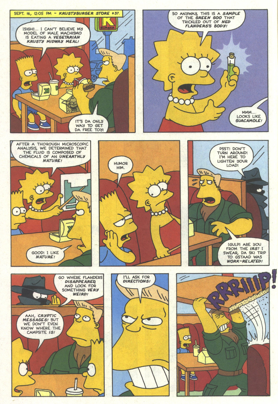 Read online Simpsons Comics comic -  Issue #11 - 13