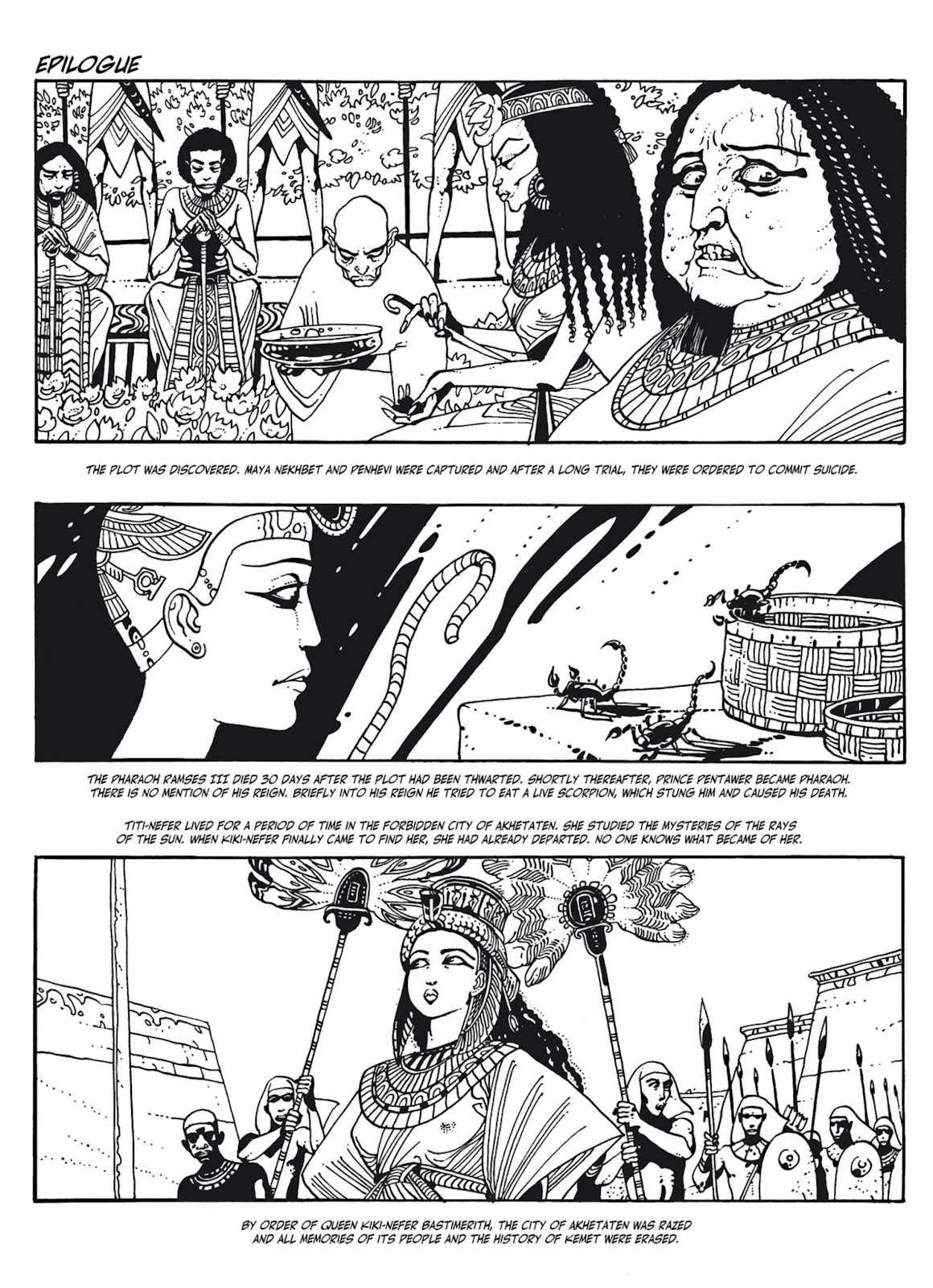 Read online The Egyptian Princesses comic -  Issue # TPB 1 (Part 3) - 44