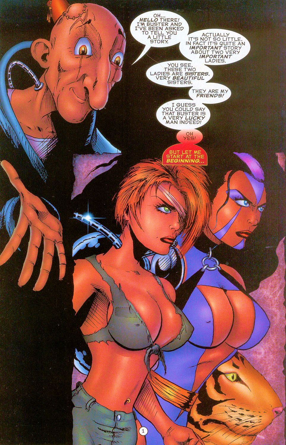 Read online Sisters of Mercy comic -  Issue #0 - 2