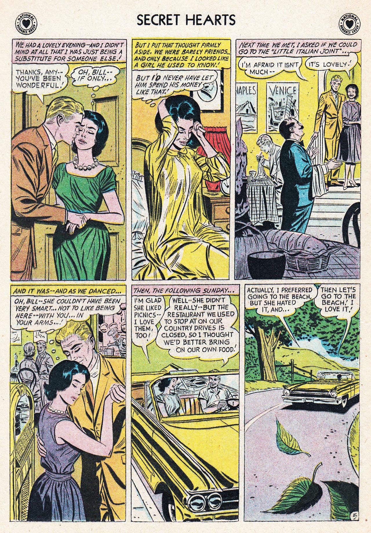 Read online Secret Hearts comic -  Issue #75 - 22