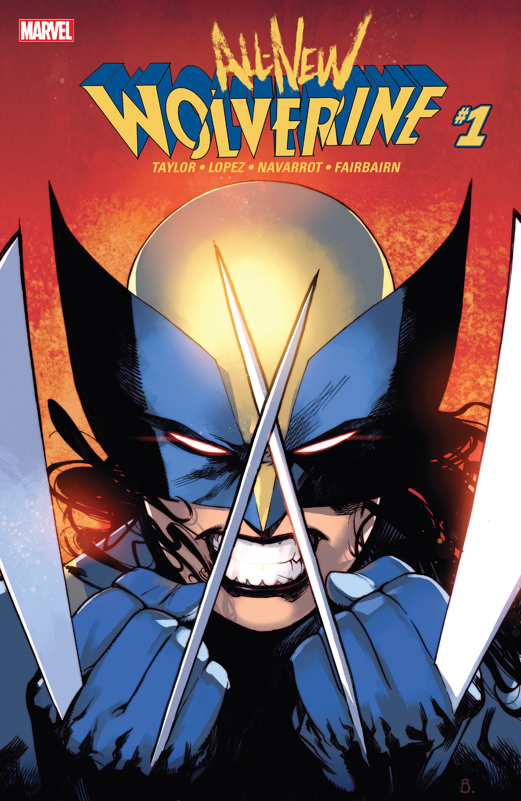All-New Wolverine (2016) 1 Page 1
